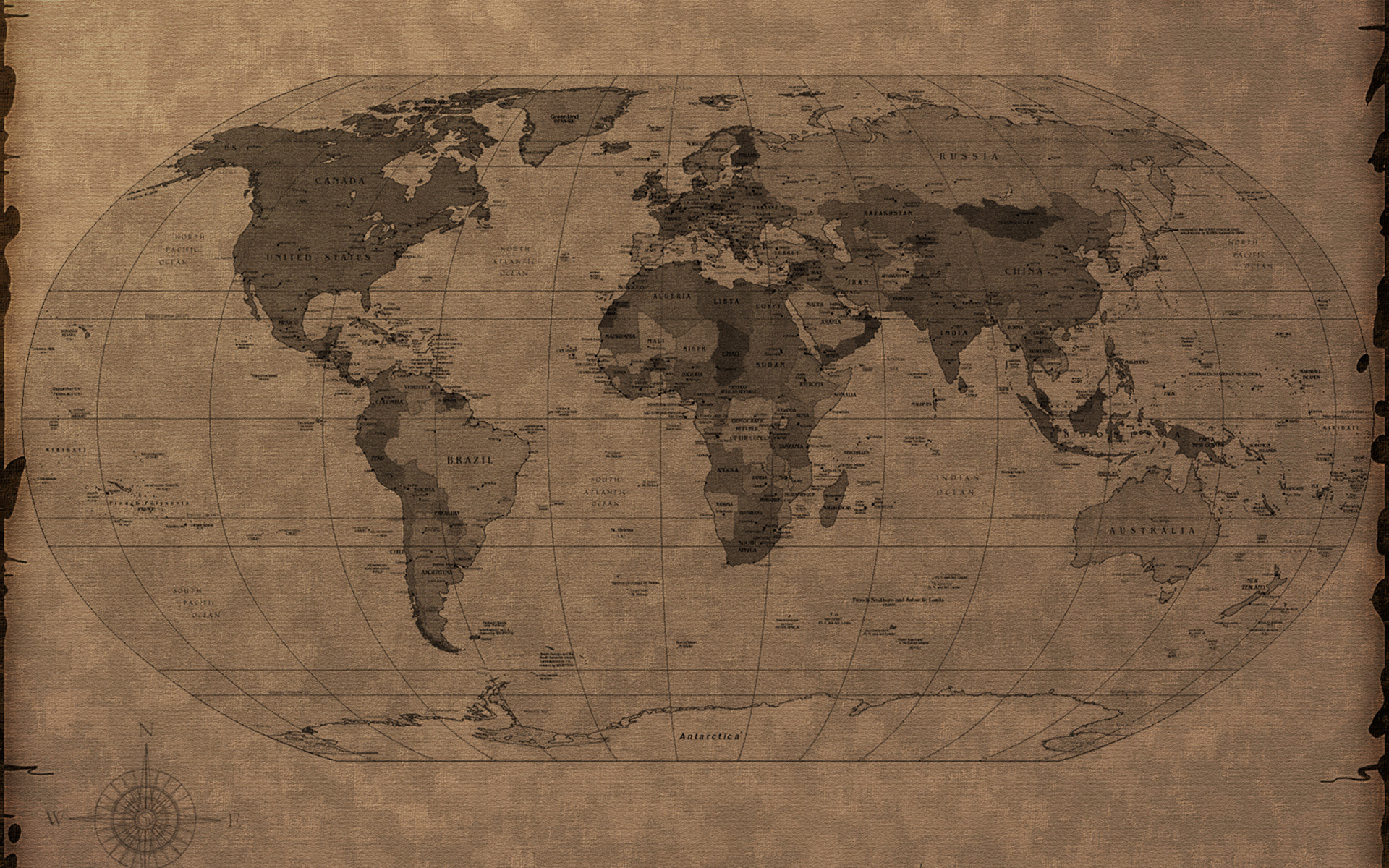 World map computer wallpaper 62 images 1920x1080 map of the world wallpaper for gumiabroncs Choice Image
