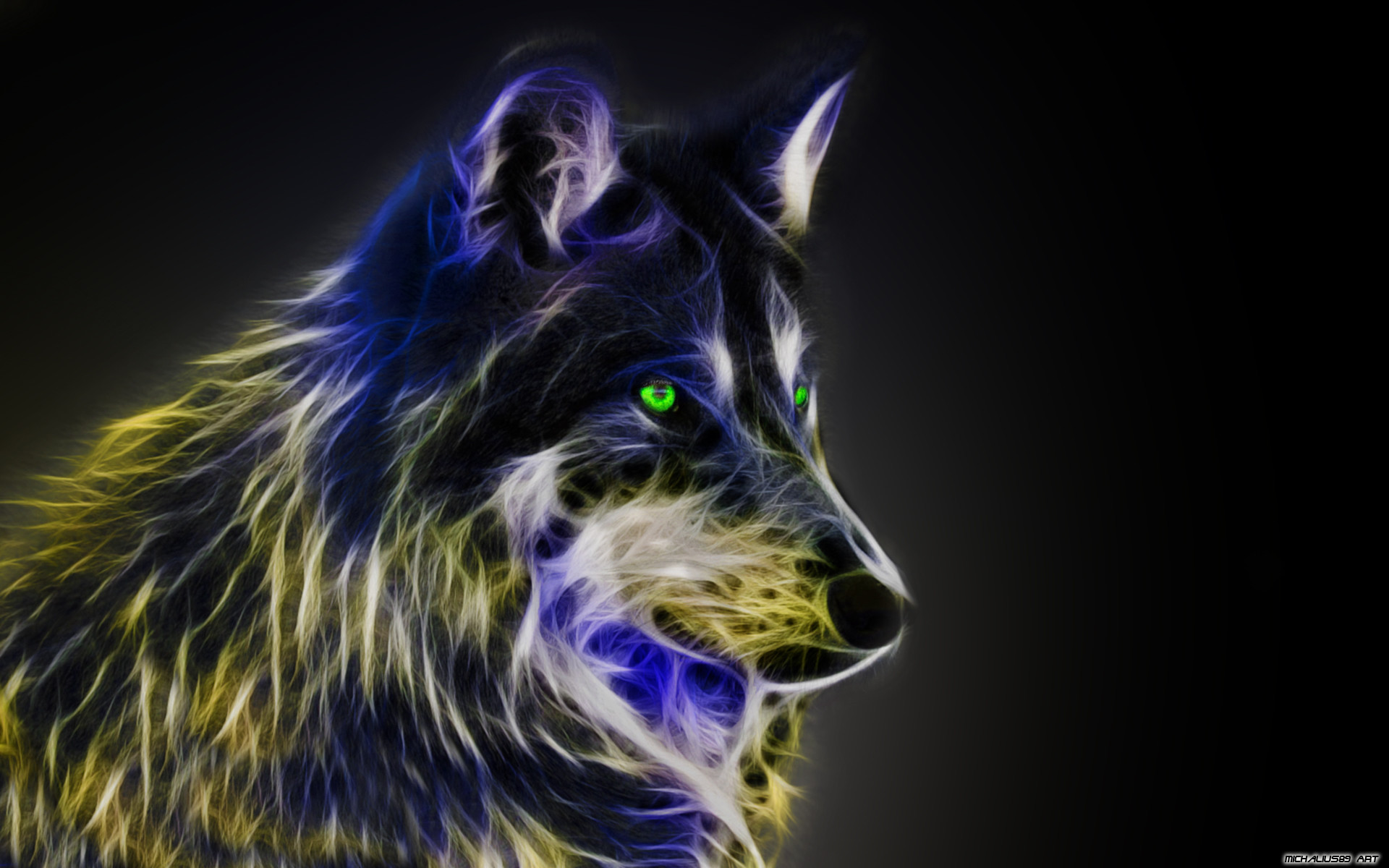 1920x1200 Wolf Wallpapers Free Download (59 Wallpapers) – Adorable Wallpapers 7 best  Neon ...