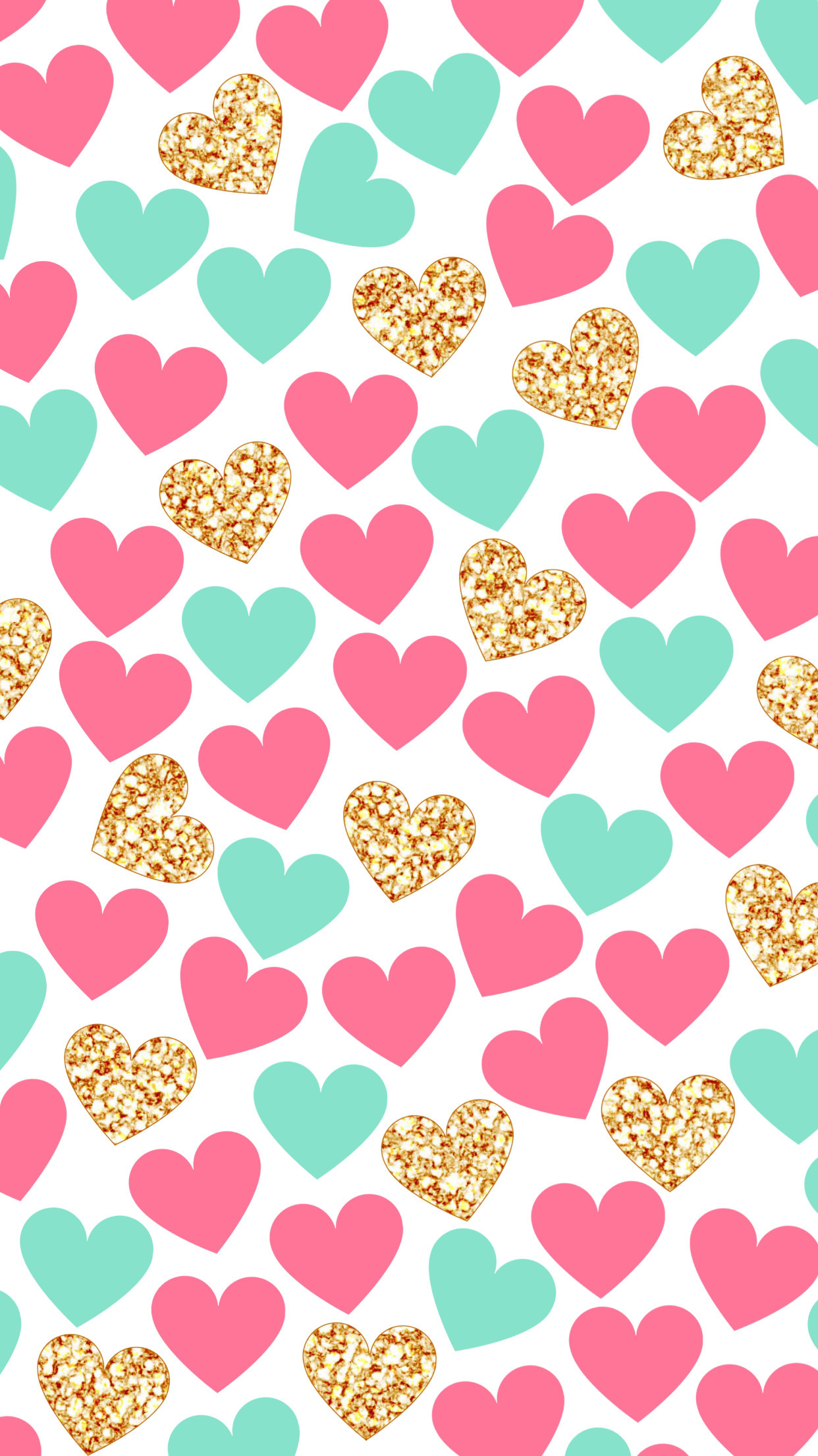 Cute Heart Wallpaper For Iphone 71 Images