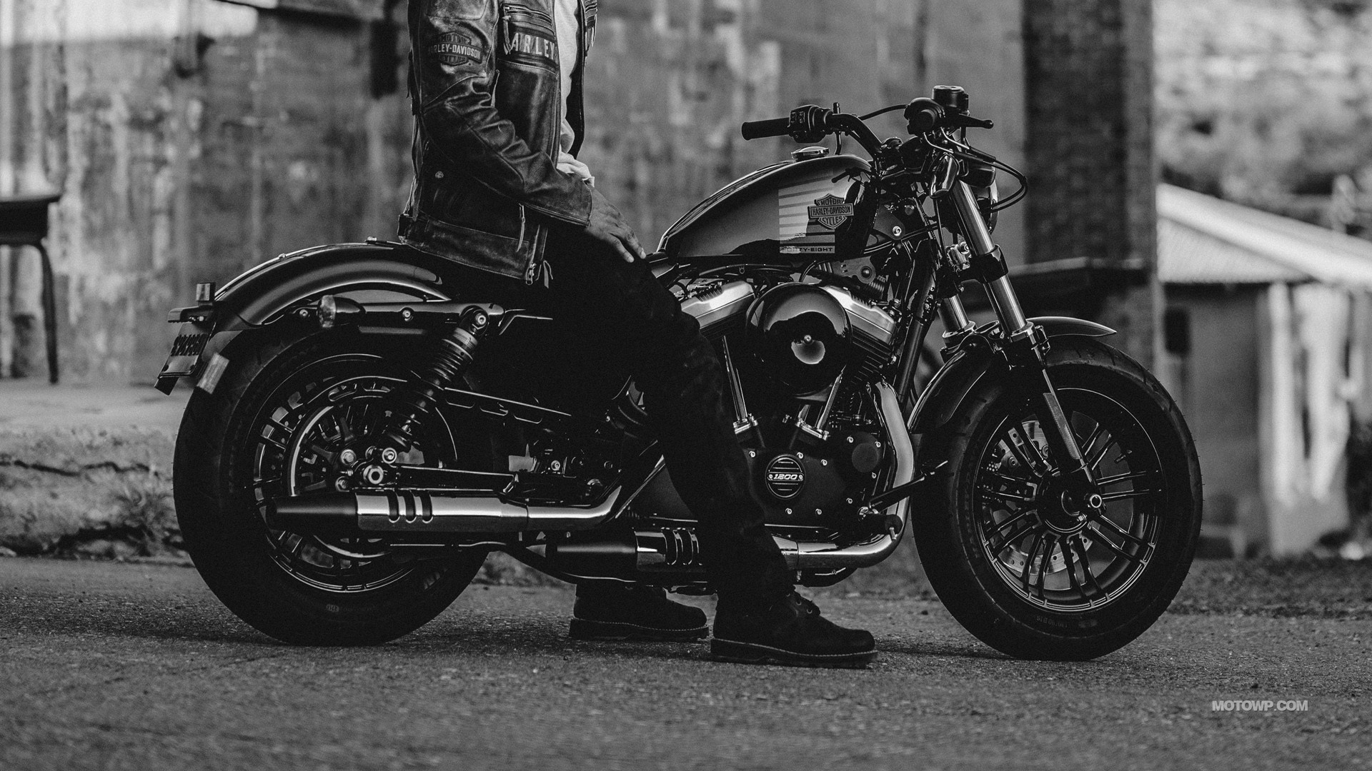 1920x1080 Motorcycles wallpapers Harley-Davidson Sportster Forty Eight - 2017