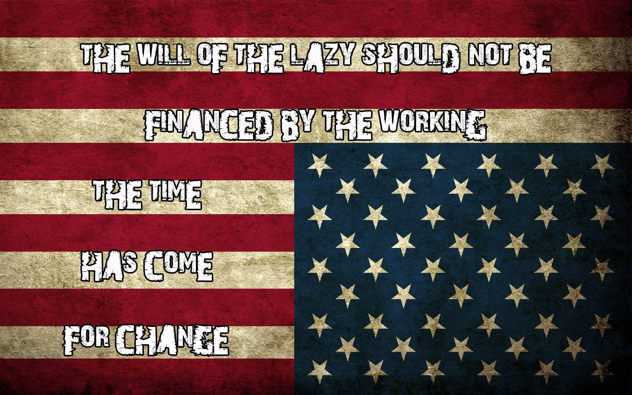 2560x1600 American Flag Image Desktop