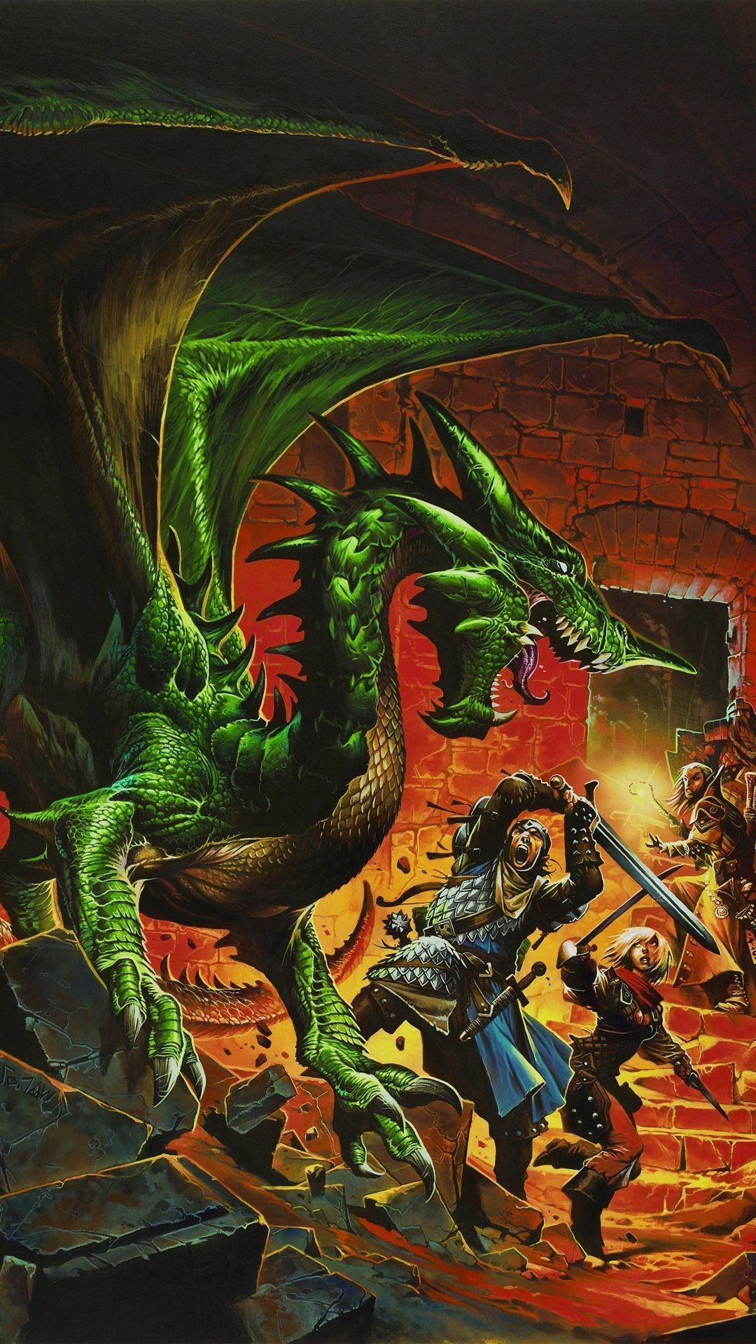 1080x1920 Dungeons & Dragons Mobile Wallpaper 9247