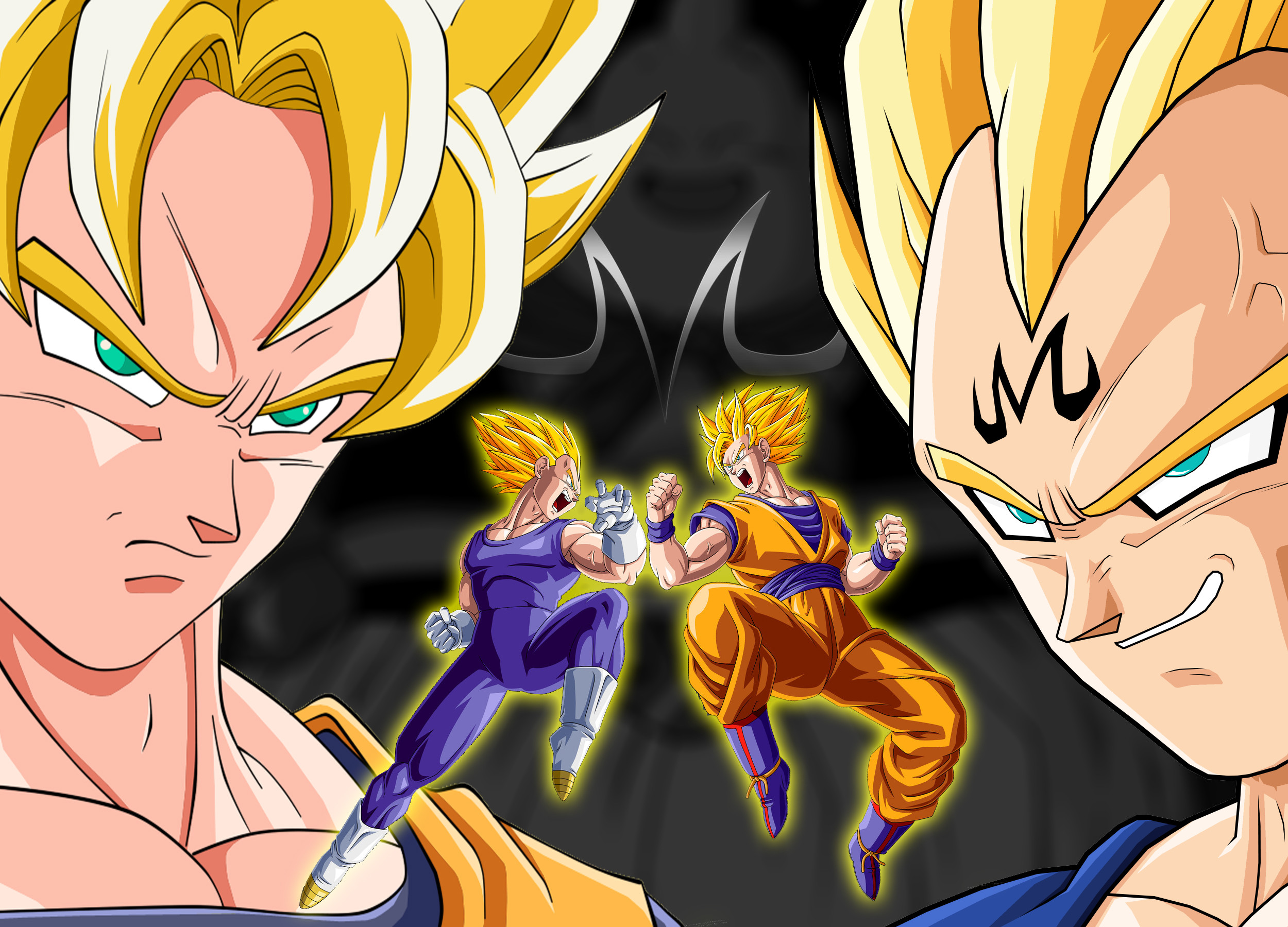 1920x1080 Dragonball Z GT Minimalist Art Wallpaper Volume 1