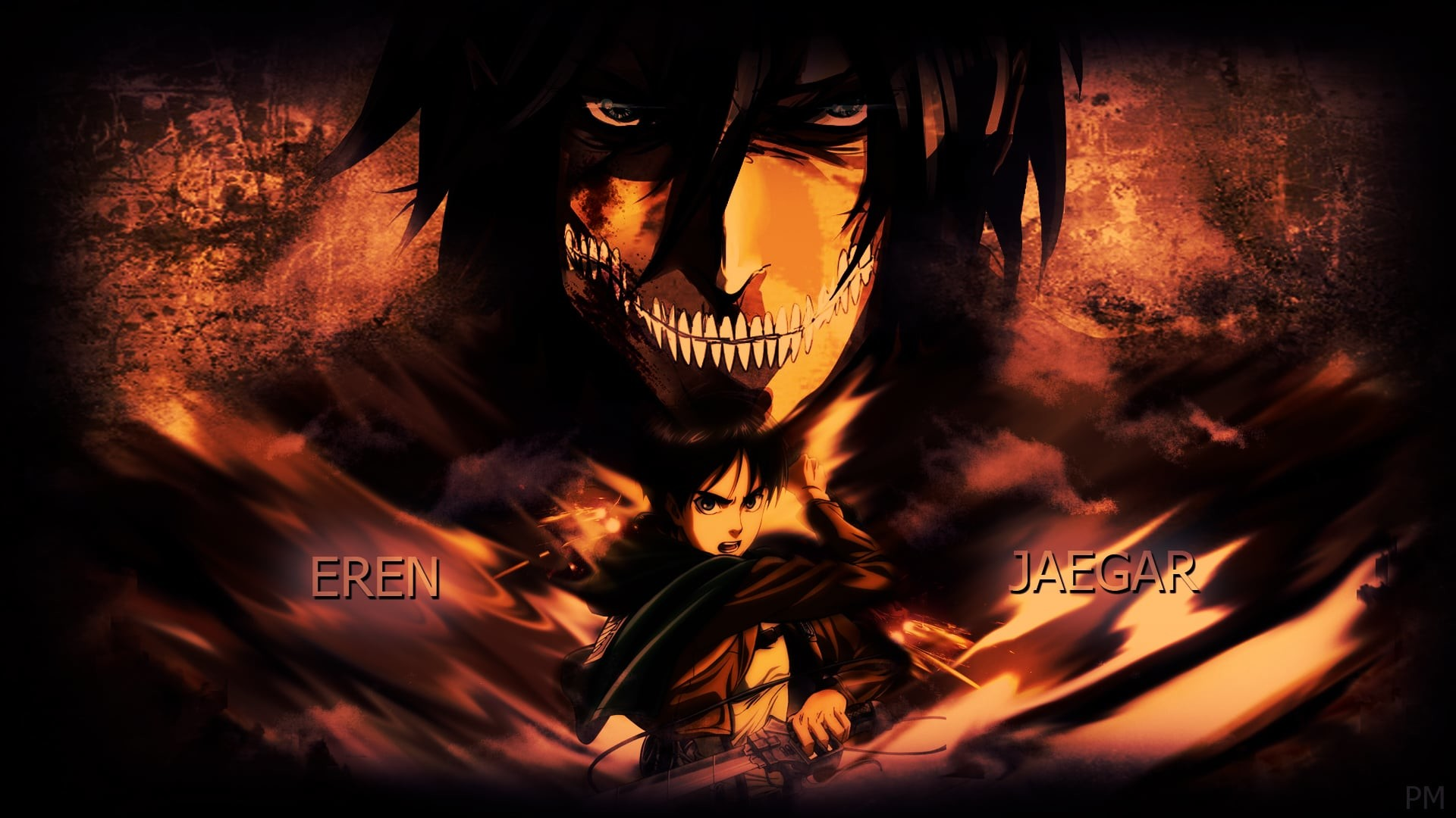 Attack On Titan Logo Wallpaper 73 Images