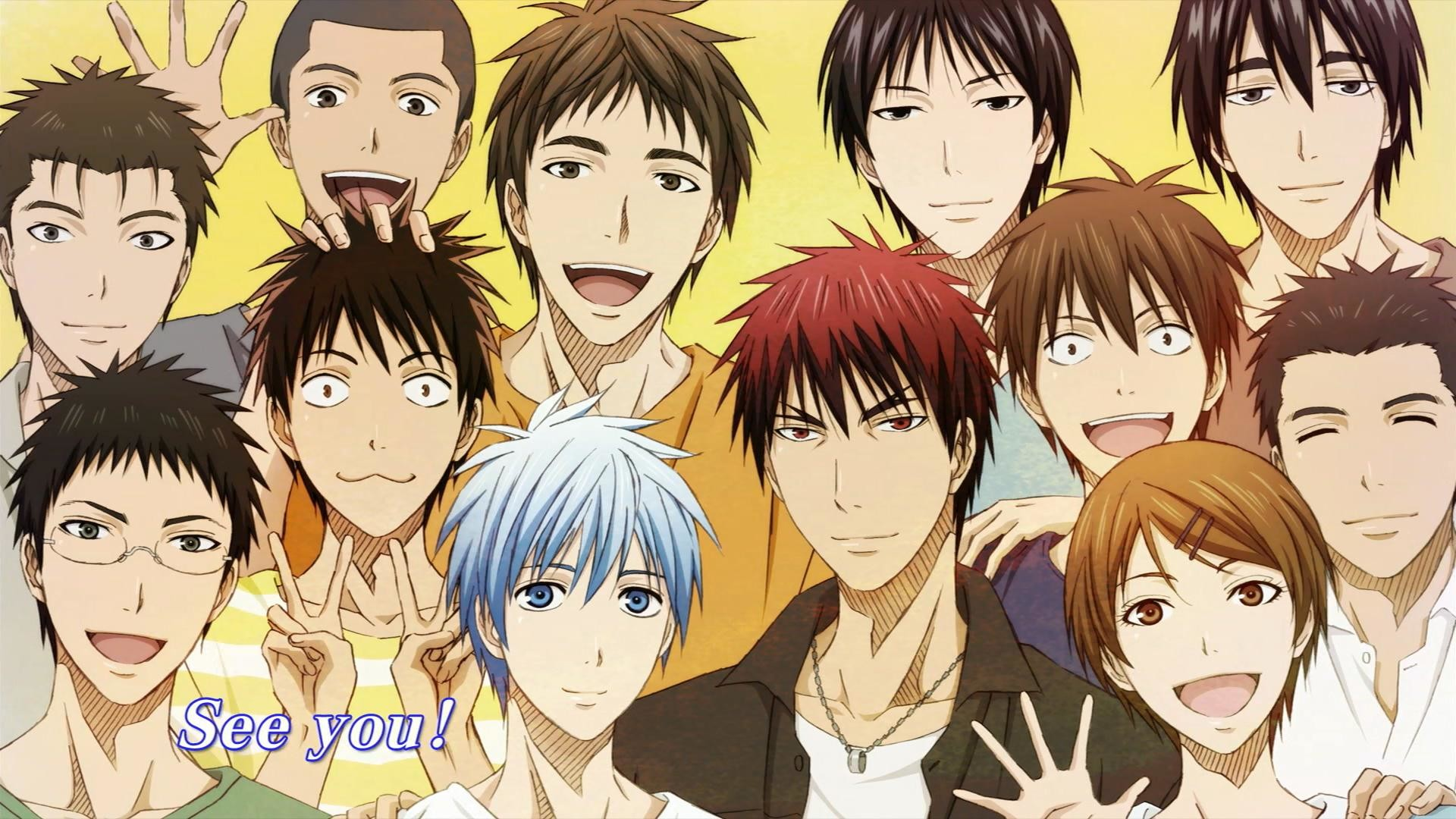 1920x1080 Anime Wallpapers Kuroko No Basuke HD 4K Download For Mobile iPhone & PC