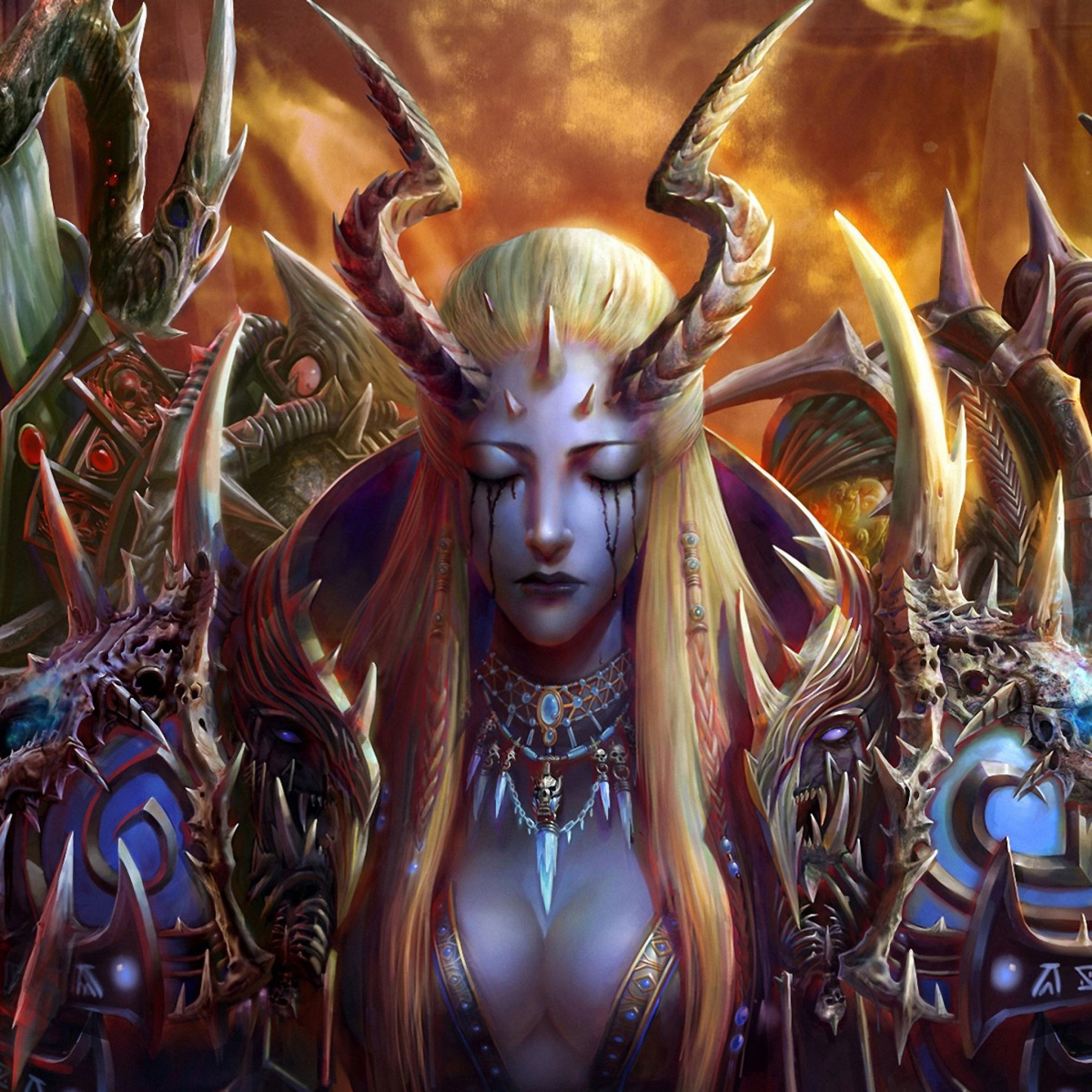 Diablo 3 Wallpaper 1920x1080: Female Demon Wallpaper (70+ Images