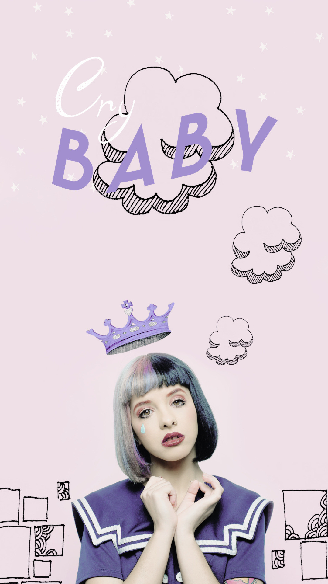 1080x1920 CryBaby — Melanie Martinez - Lock Screen Wallpaper