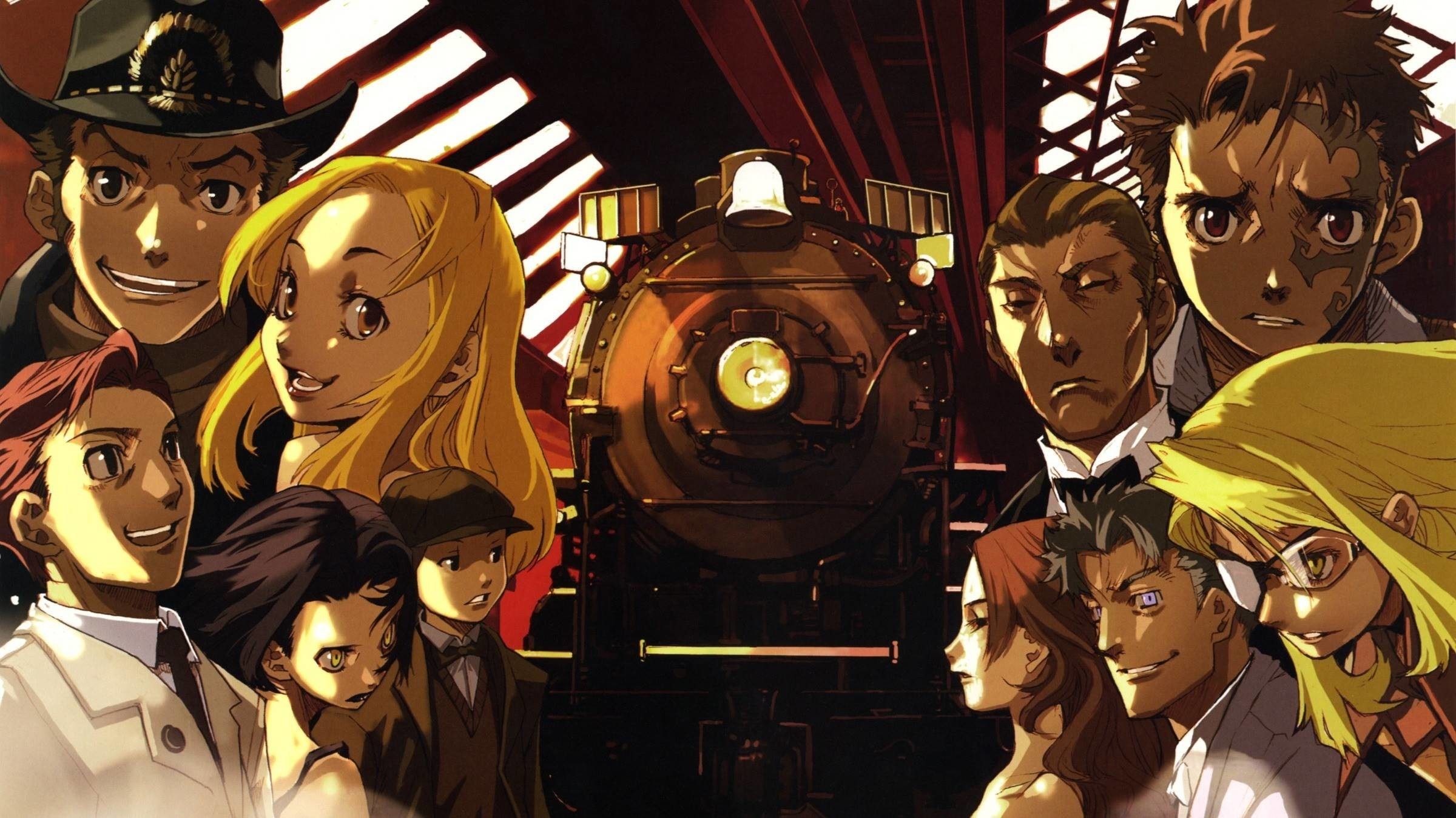 2400x1350 Baccano! Anime Wallpapers