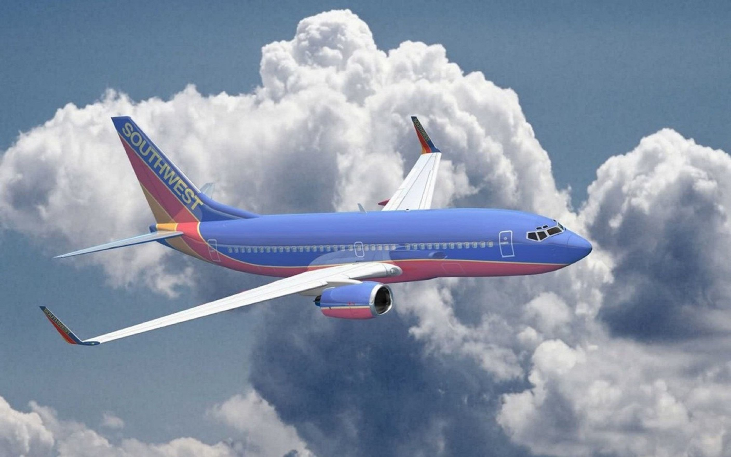 2816x1760 Download Aircraft Airliners Southwest Airlines Boeing 737 700 Wallpaper  Free Wallpaper on dailyhdwallpaper.com