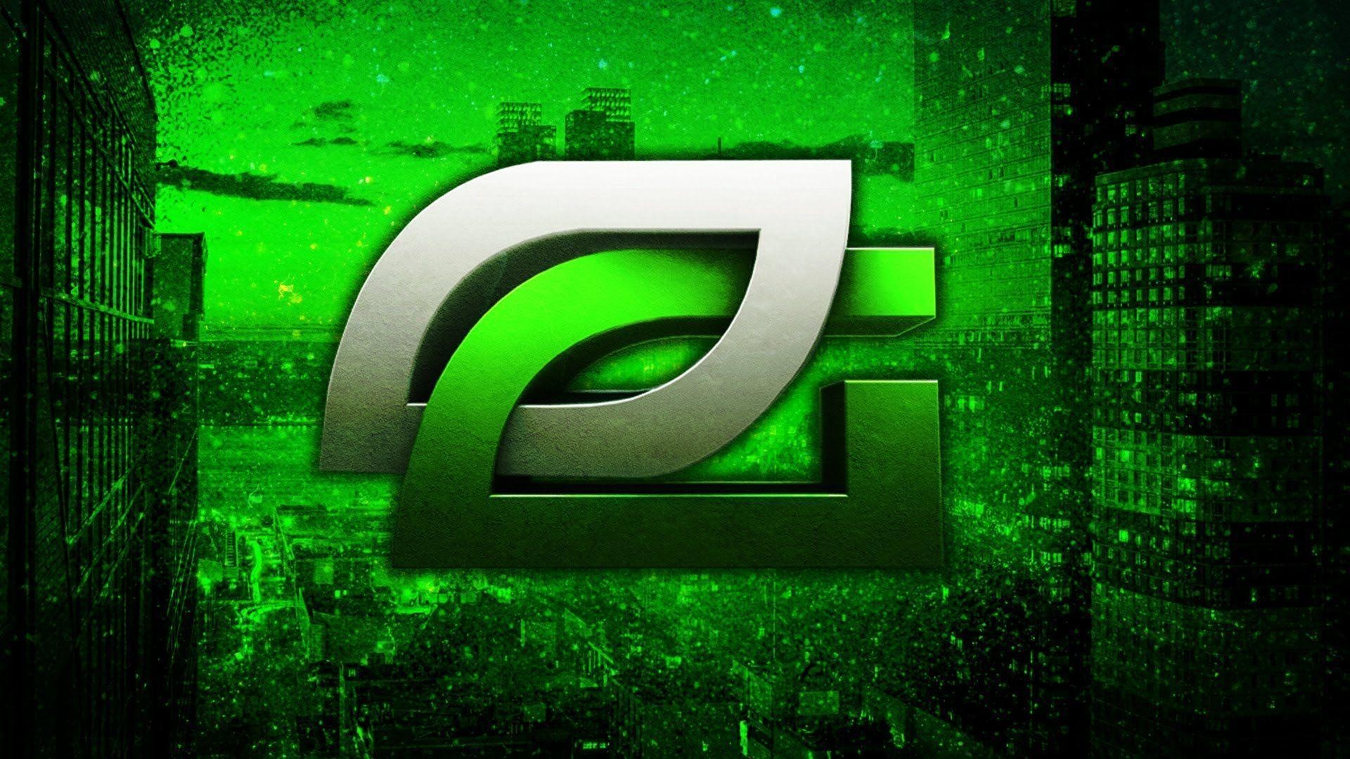Optic Logo Wallpaper