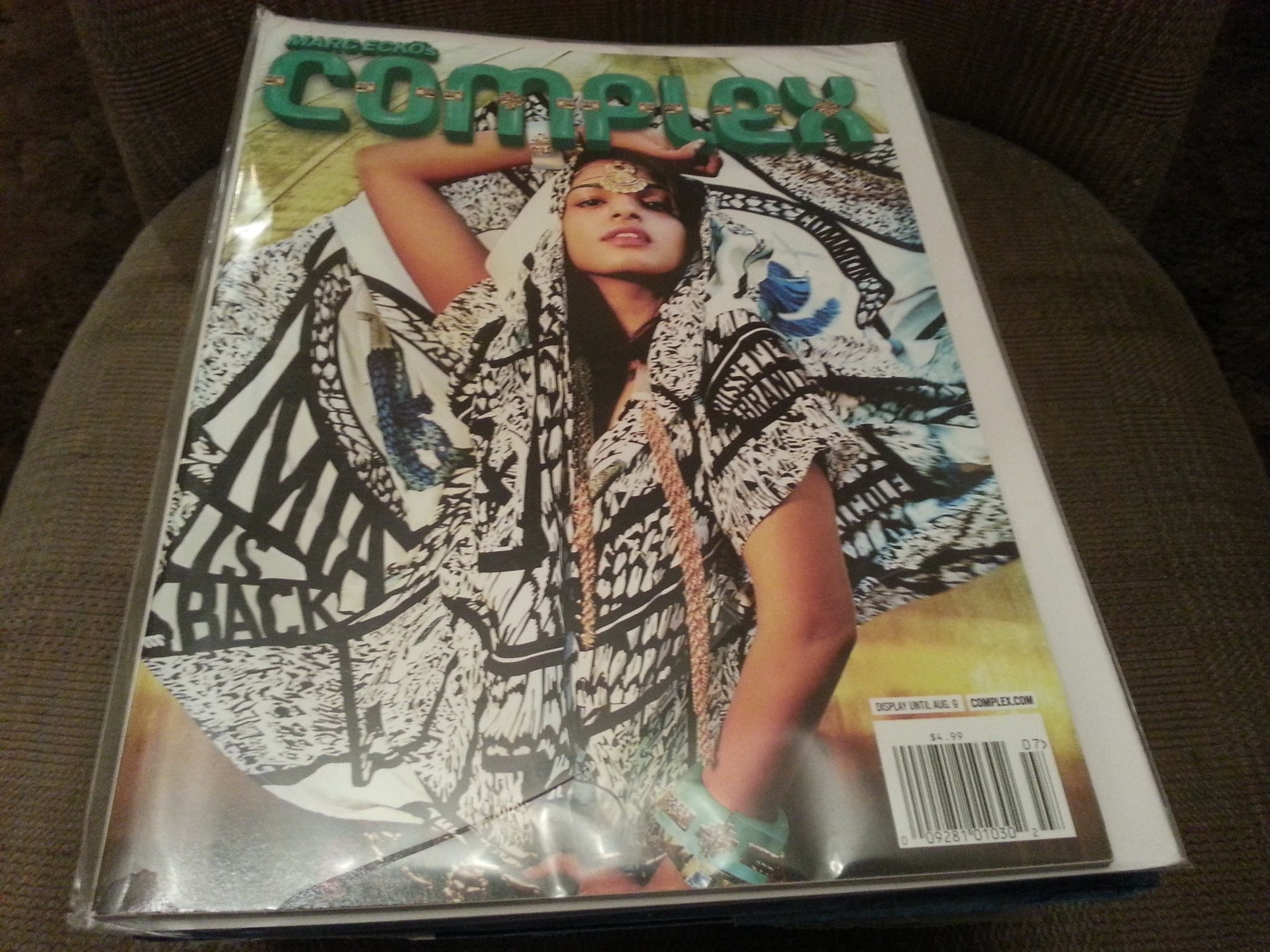 2048x1536 Complex Magazine by Marc Ecko June / July 2010 M.I.A. Cover Single Issue  Magazine – 2010