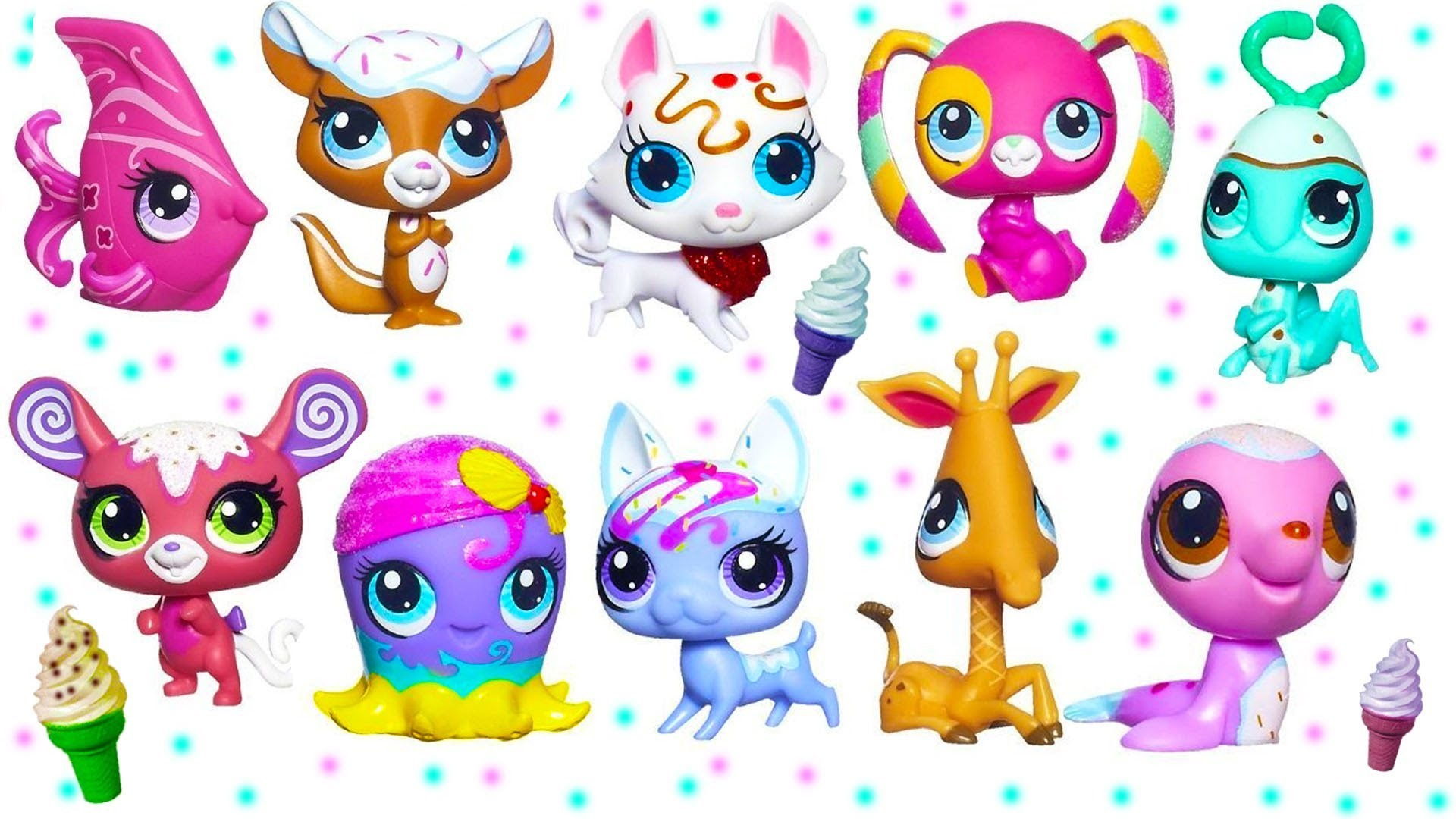 Lps wallpapers 67 images 1920x1080 littlest pet shop sundae sparkle ice cream sprinkle glitter pets toy review opening youtube voltagebd Choice Image