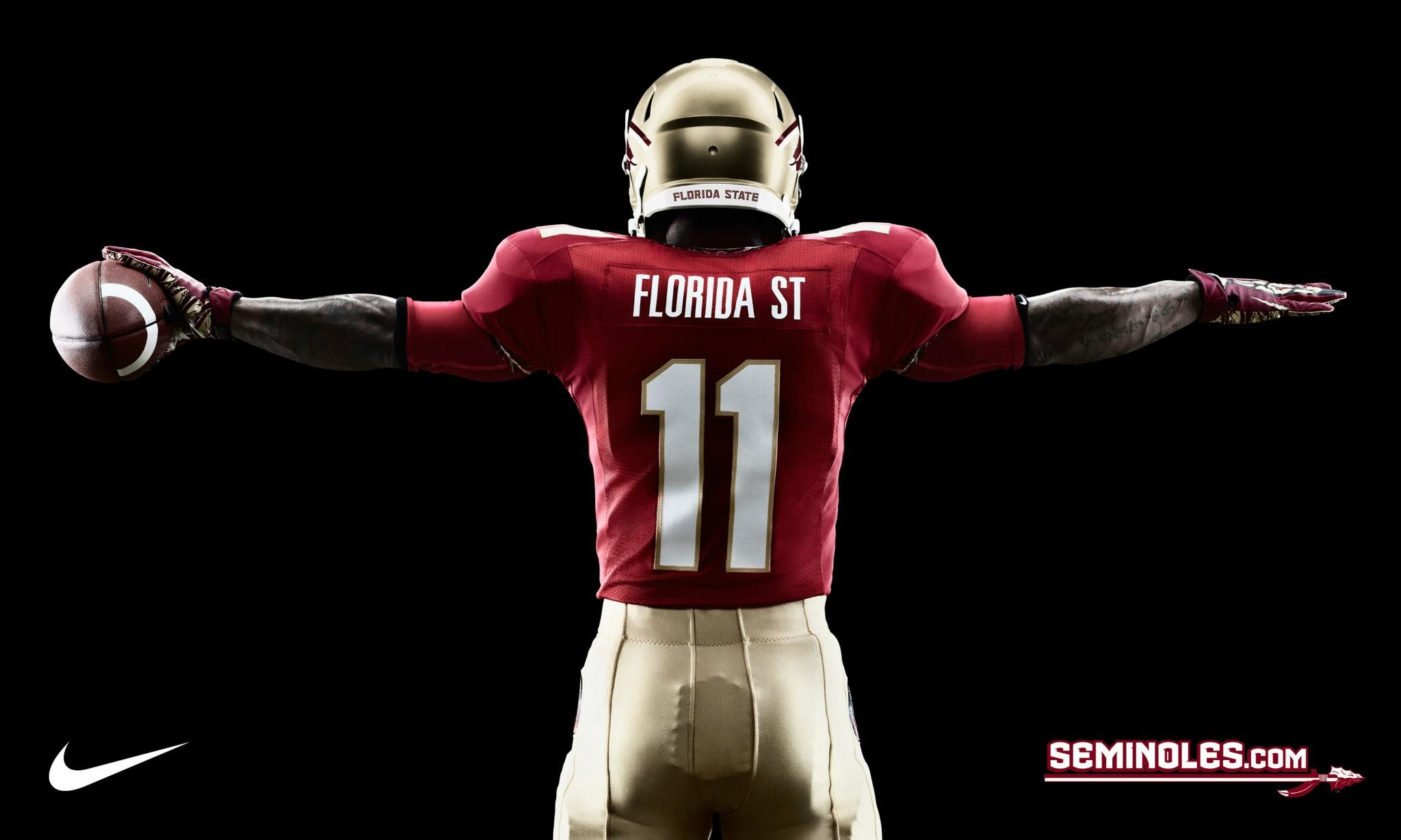 2048x1229 ... football poster; florida state seminoles wallpapers wallpaper cave ...