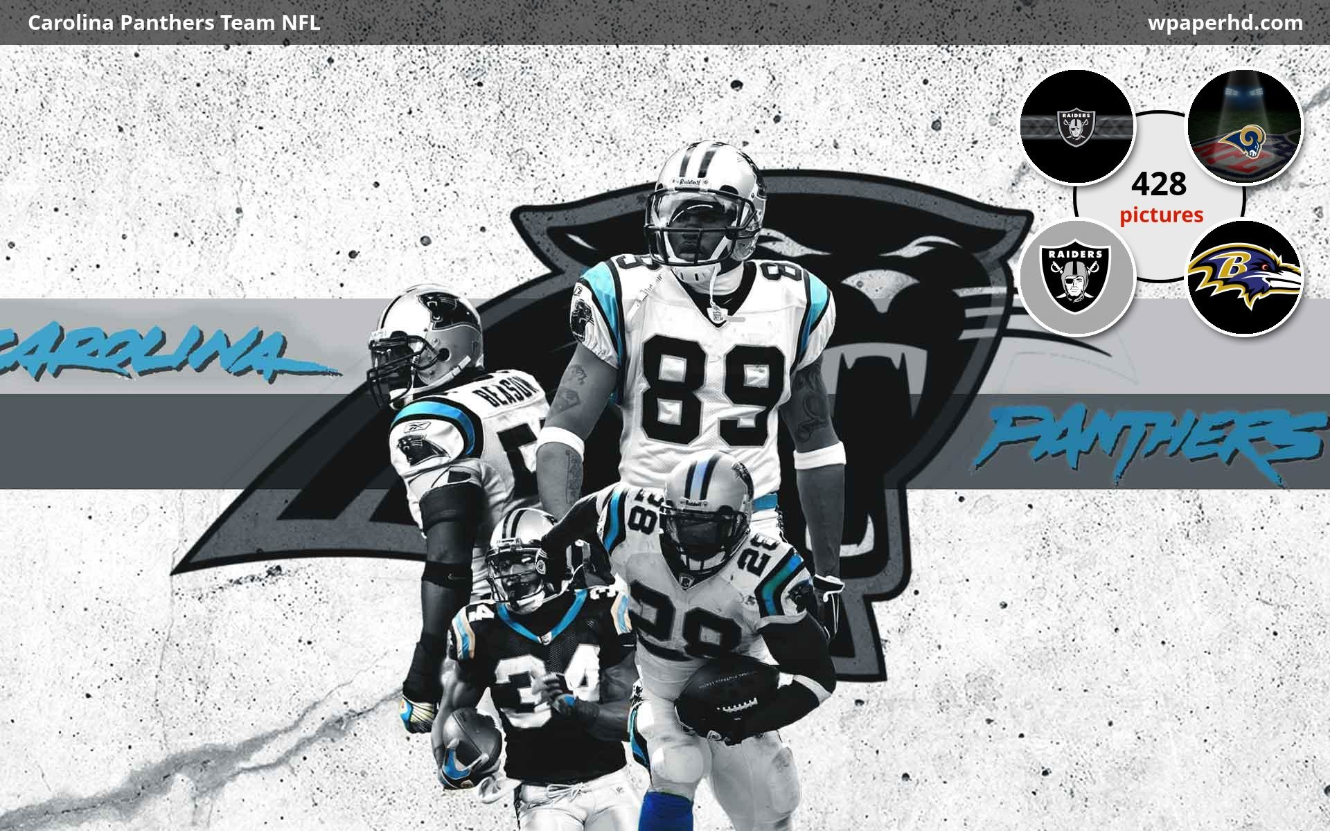1920x1200 Description Carolina Panthers Team NFL wallpaper from Football category. You are on page with