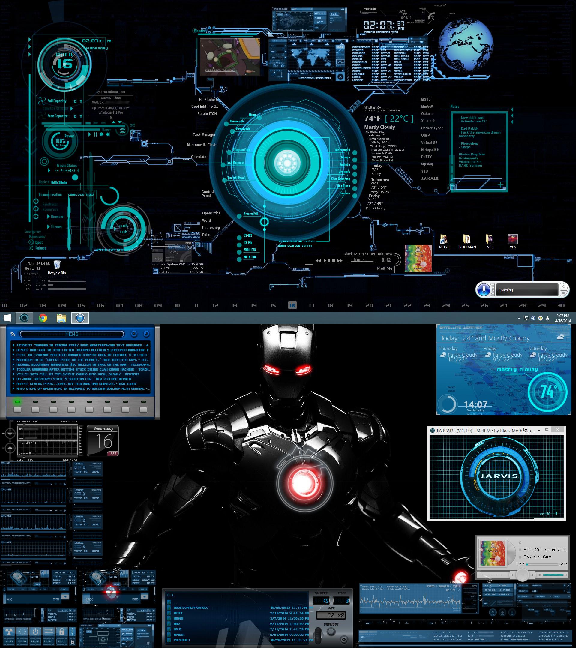 Iron Man Jarvis Wallpaper Iphone