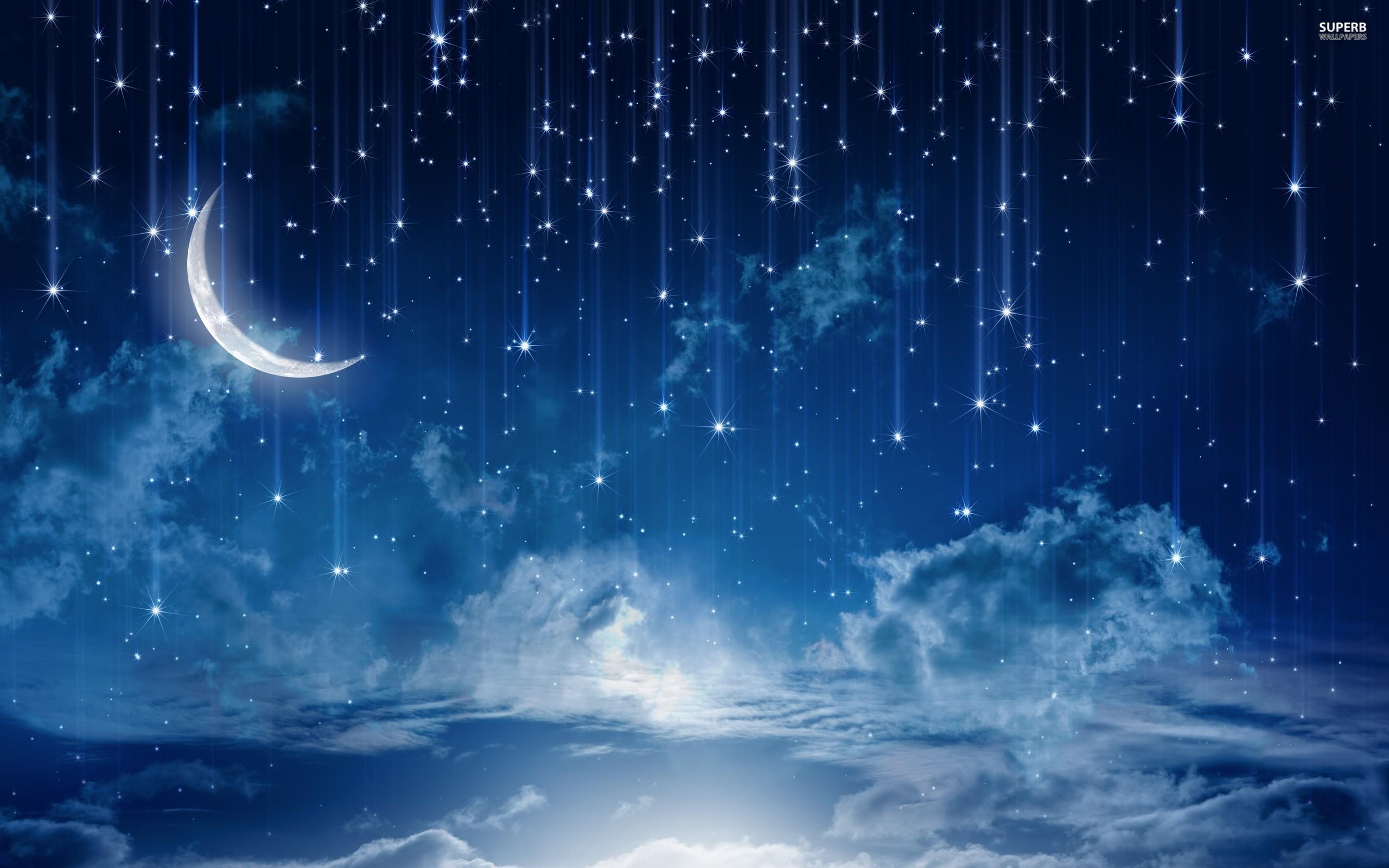 2560x1440 Starry Night Sky | Sky HD Wallpaper
