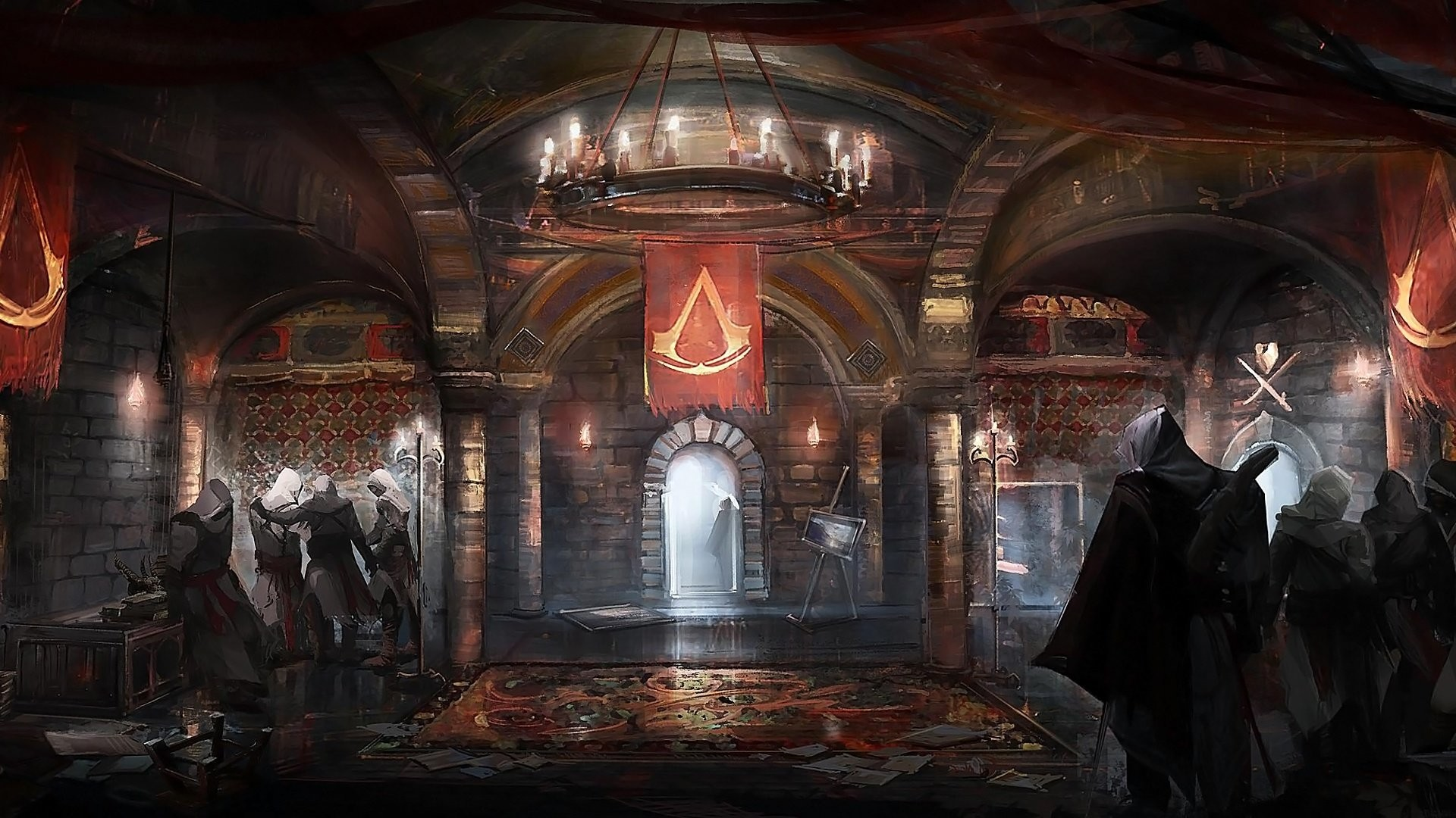 1920x1080 Wallpaper zu Assassin's Creed: Brotherhood herunterladen