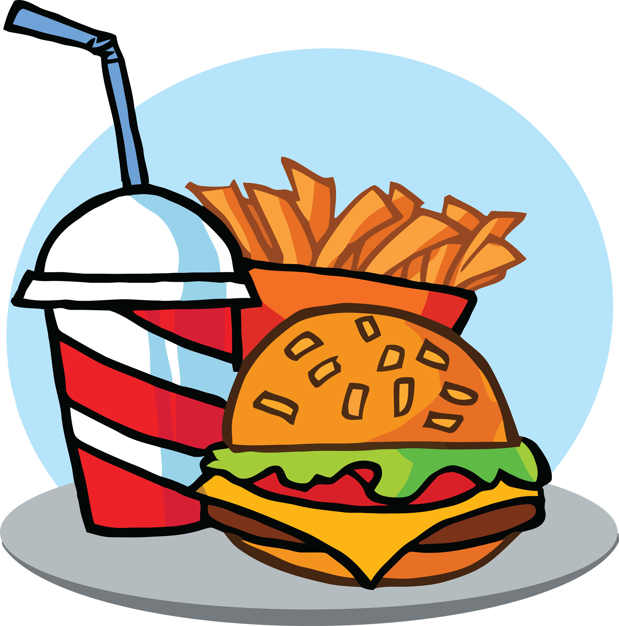 food cartoon clipart animated cute wallpapers