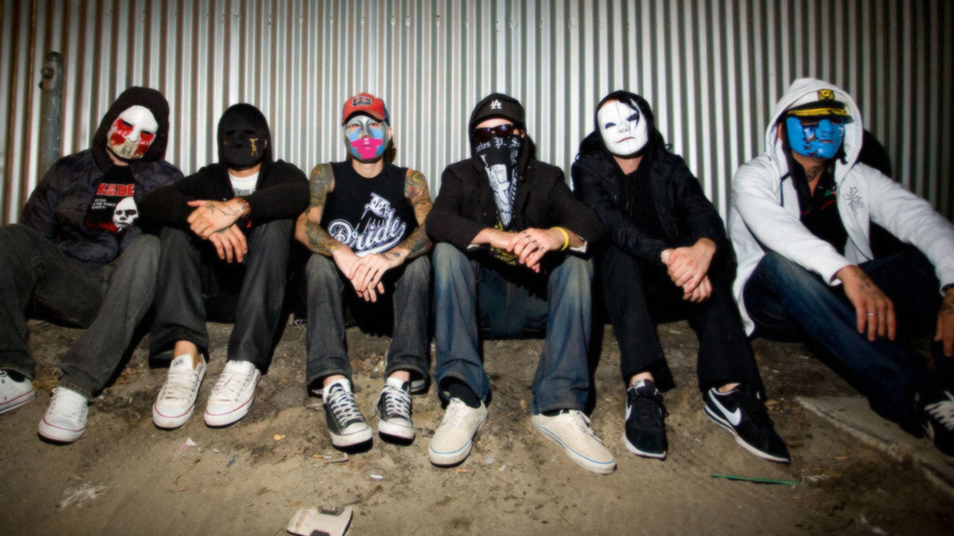 1920x1080 Hollywood Undead glamour ...