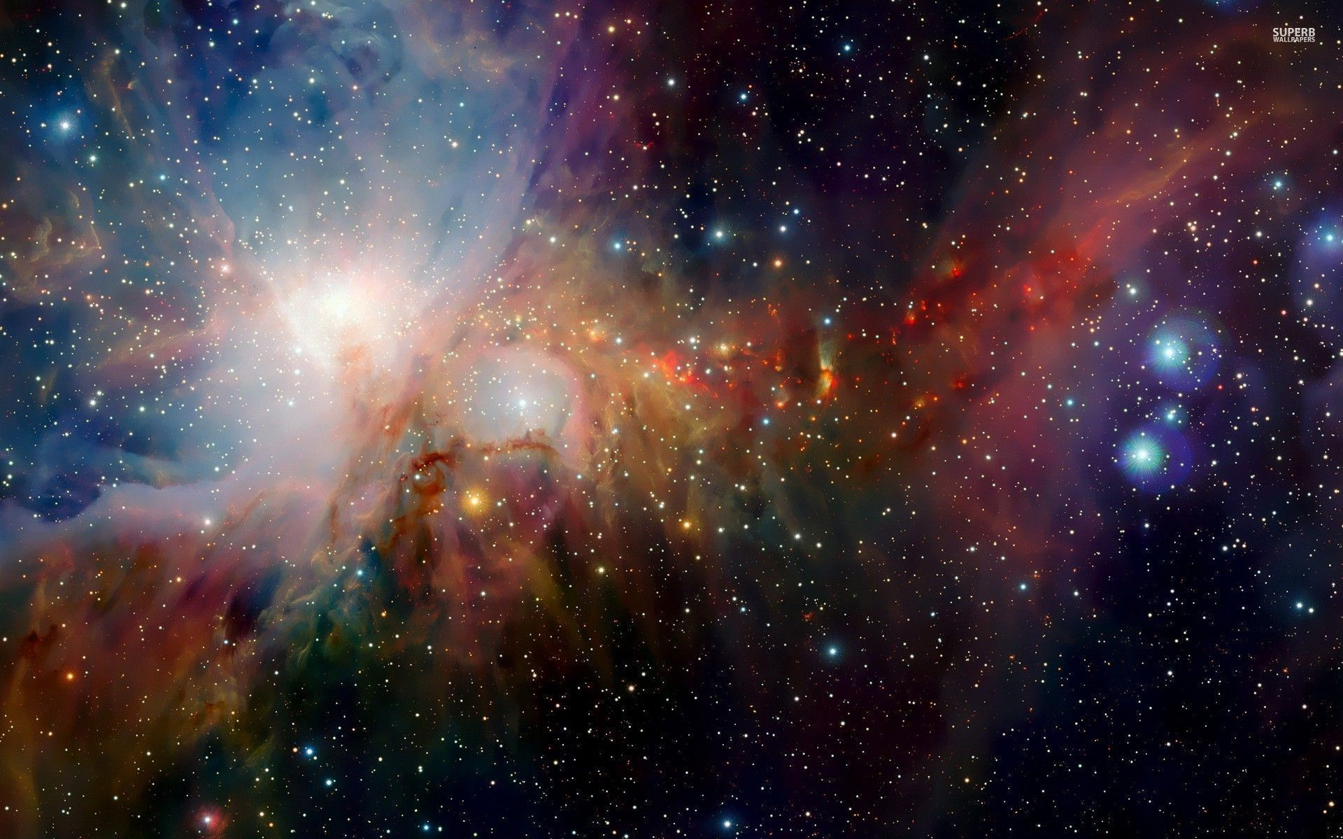 colorful space wallpapers (73+ images)