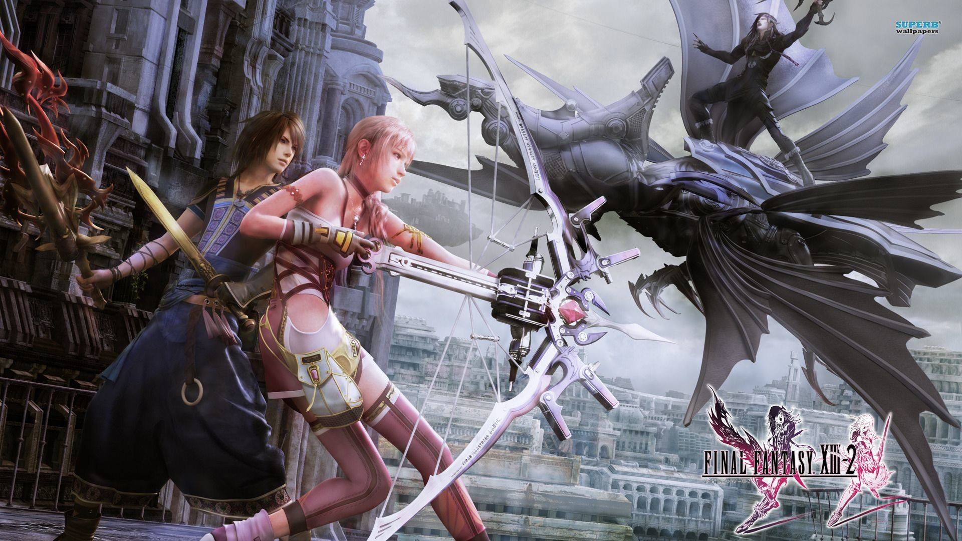 1920x1080 Serah, Noel and Caius- Final Fantasy XIII-2 wallpaper