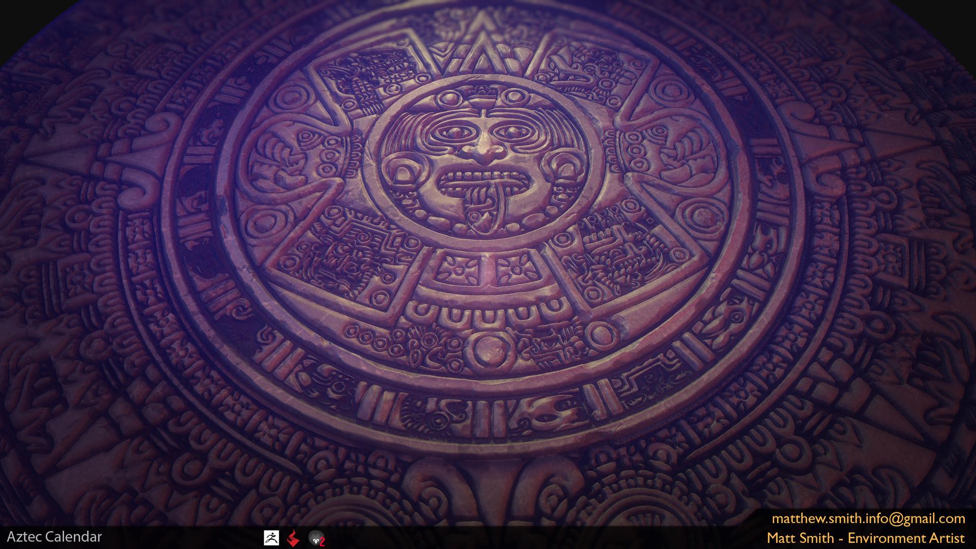Aztec Calendar Wallpap...
