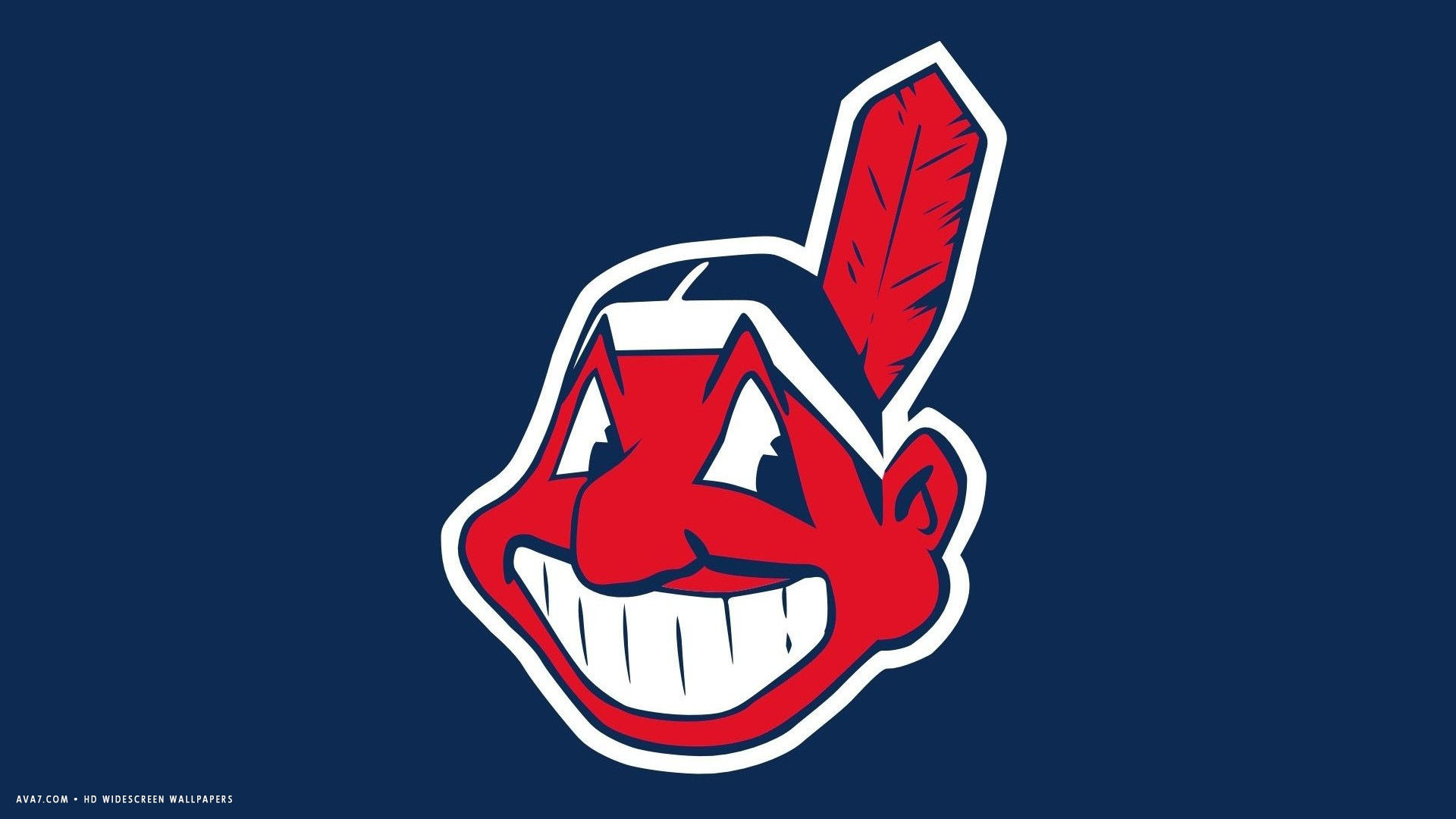 1920x1080 cleveland indians mlb baseball team hd widescreen wallpaper