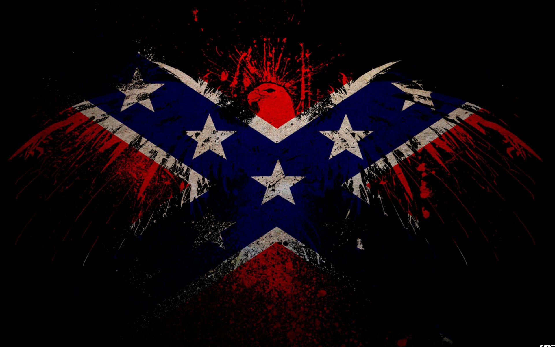 1920x1200 Viewing Gallery For - Cool Rebel Flags