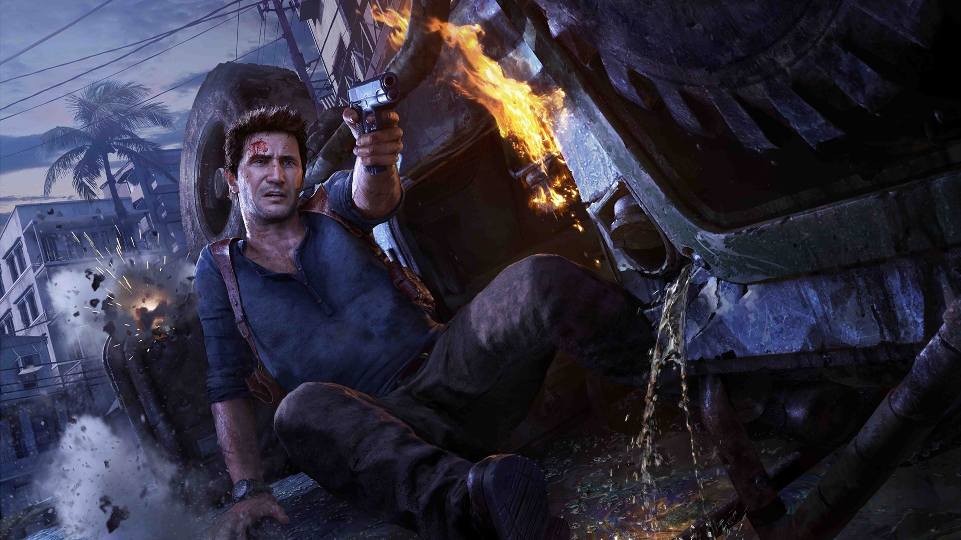 1920x1080 Nathan Drake, Uncharted 4: A Thiefs End, Video Games, PlayStation 4  Wallpapers HD / Desktop and Mobile Backgrounds
