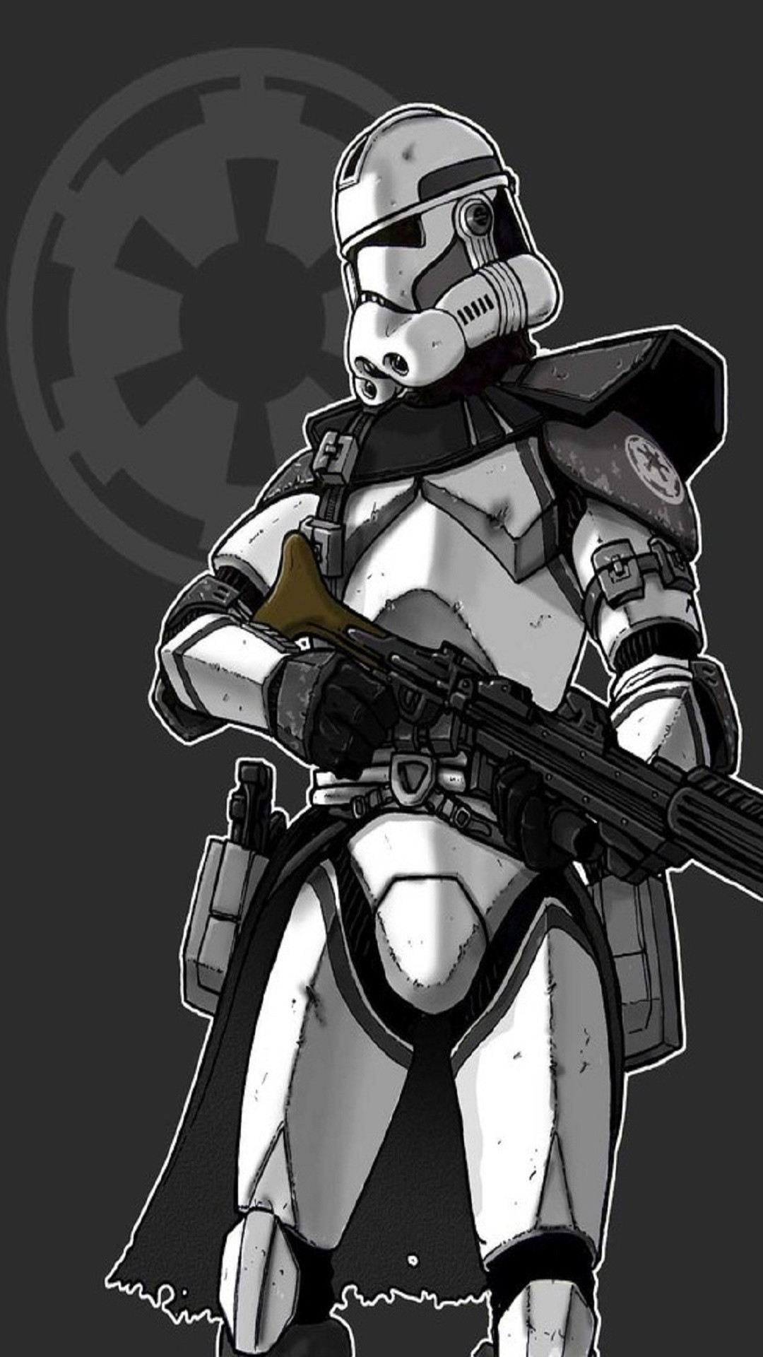 1080x1920 Star Wars Arc Trooper/ or Heavy Clone trooper