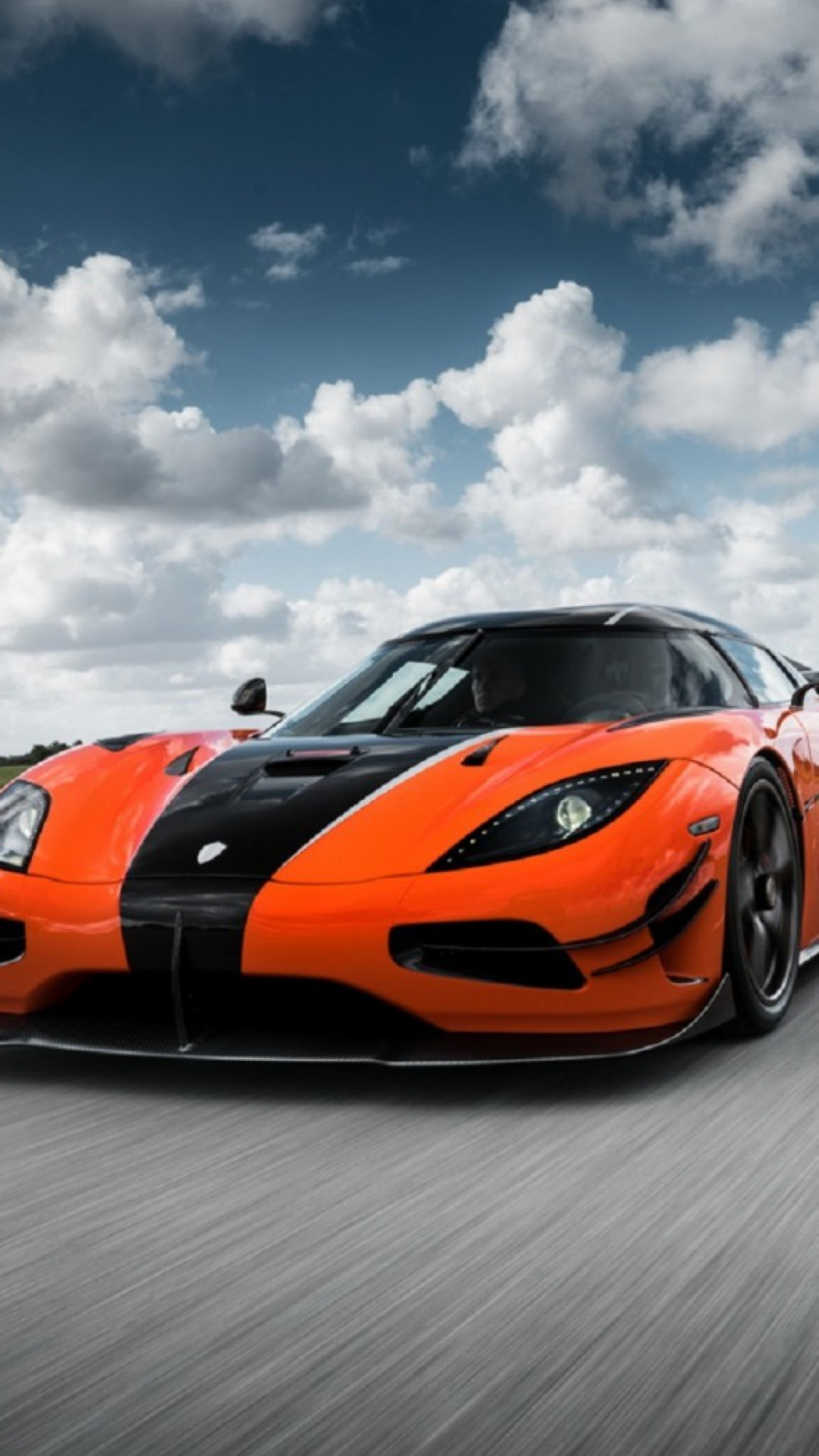 1080x1920 Preview wallpaper koenigsegg, agera, front view