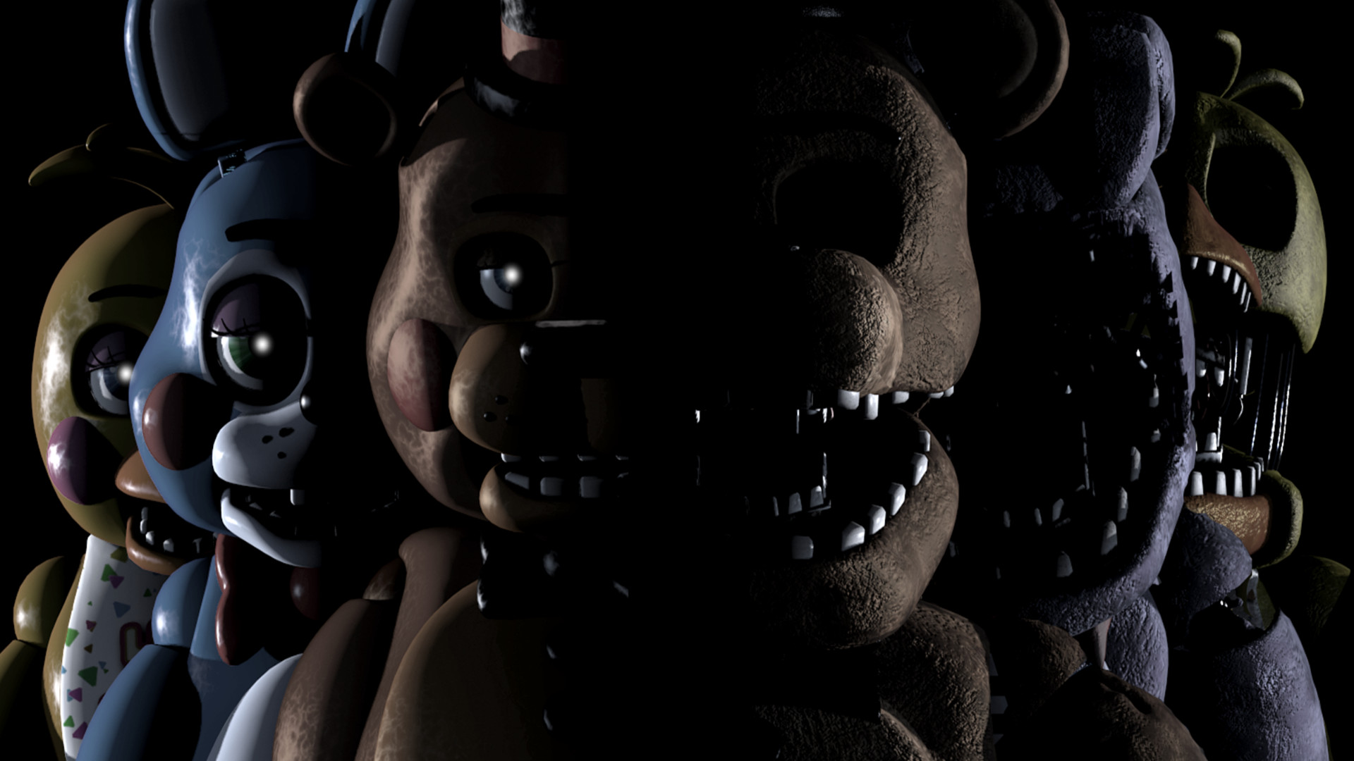 1920x1080 Five Nights at Freddy's Wallpaper 1080p (2)
