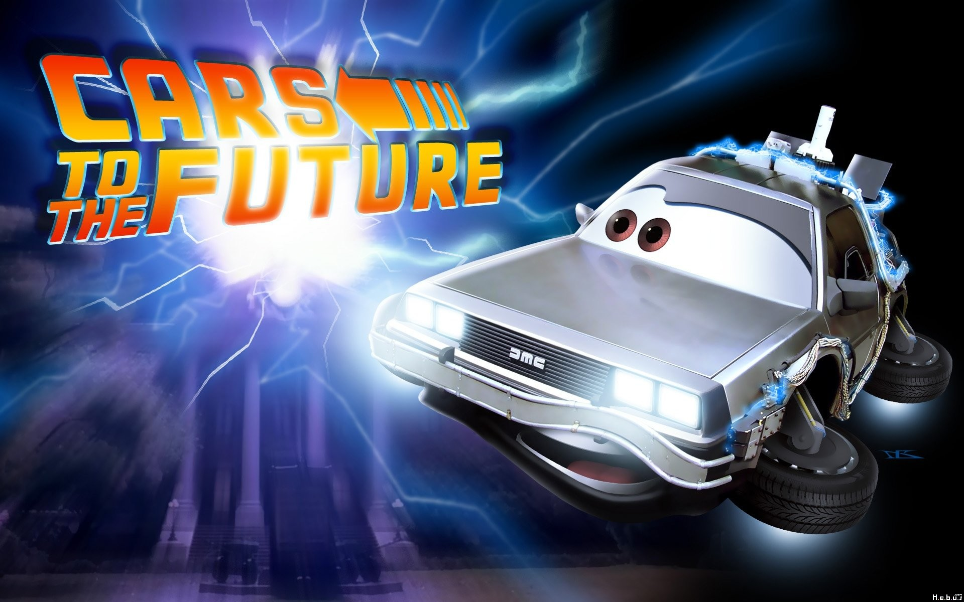 1920x1200 Cars To The Future