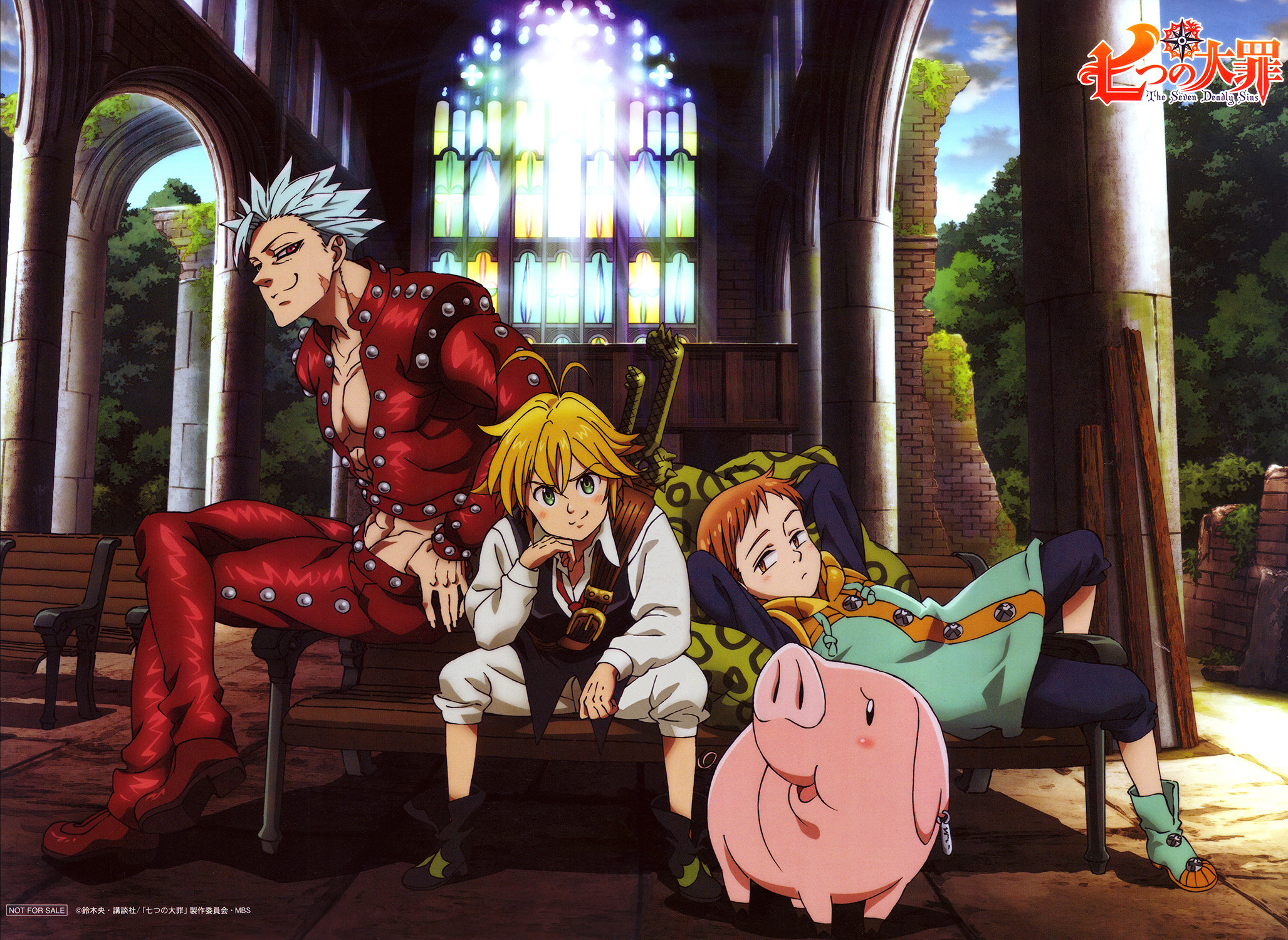 2055x1500 ... Nanatsu no Taizai / Seven Deadly Sins Wallpaper HD by corphish2