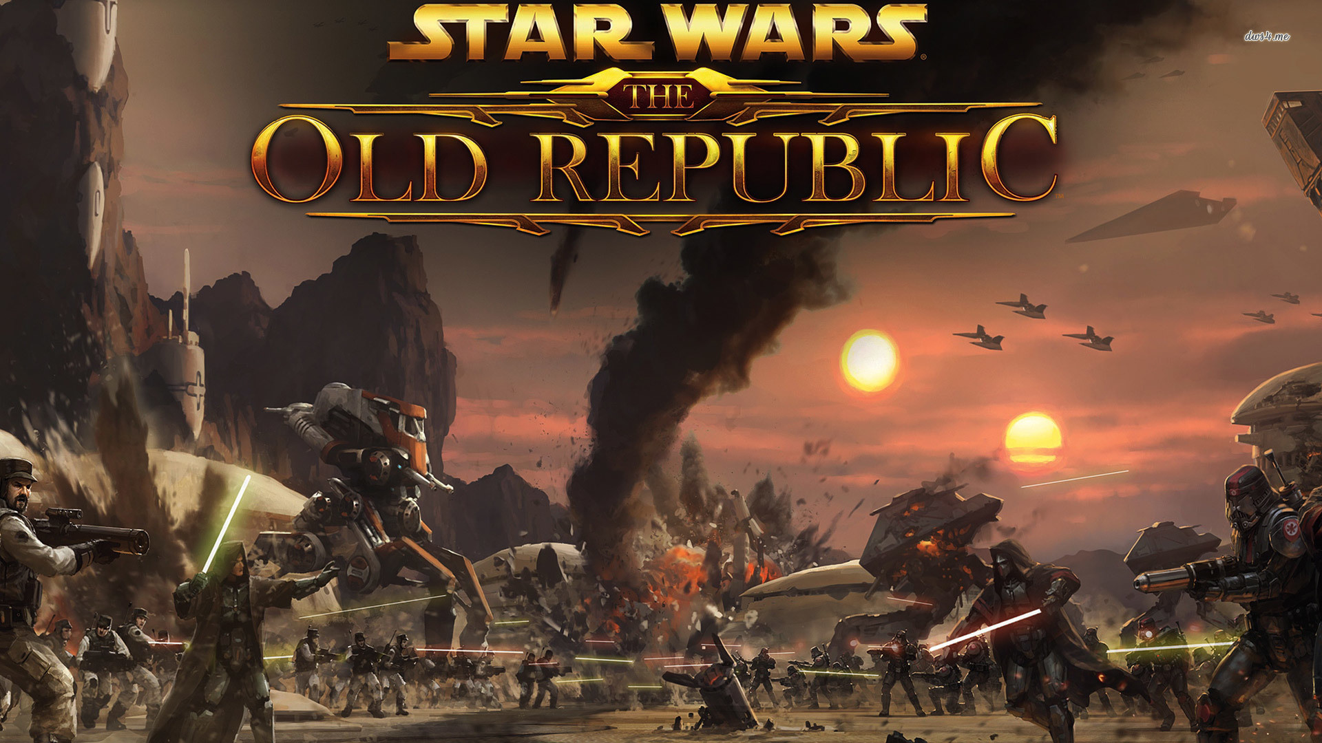 Star Wars Old Republic Wallpaper: Star Wars The Old Republic Backgrounds (77+ Images