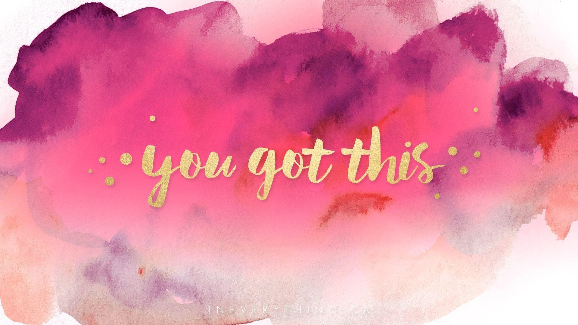 Girly Inspirational Desktop Wallpaper (61+ images)