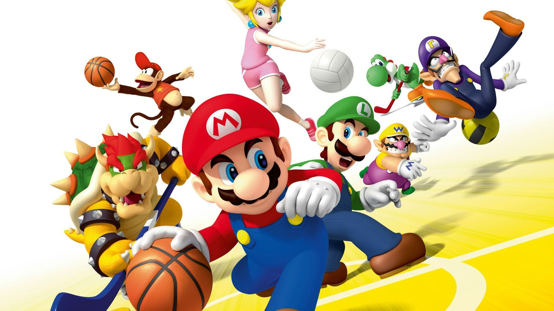 1920x1080 ... mario sports mix wallhd download hd background wallpapers free ...
