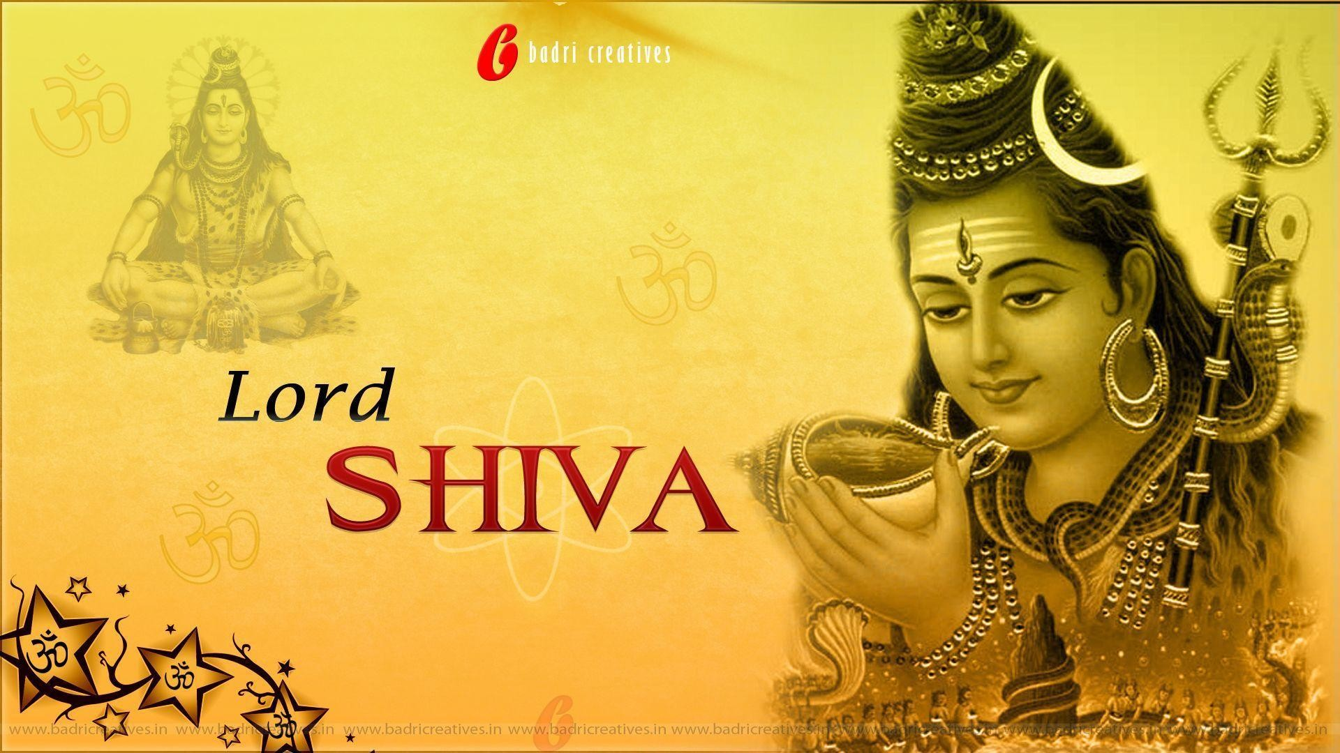 1920x1080 Amazing Lord Shiva Wallpapers (1080P HD Pics & Images)