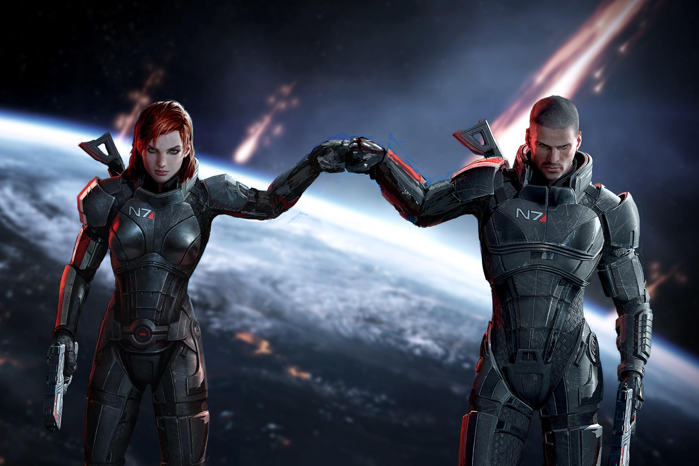 Mass Effect 3 Femshep Wallpaper 80+ images