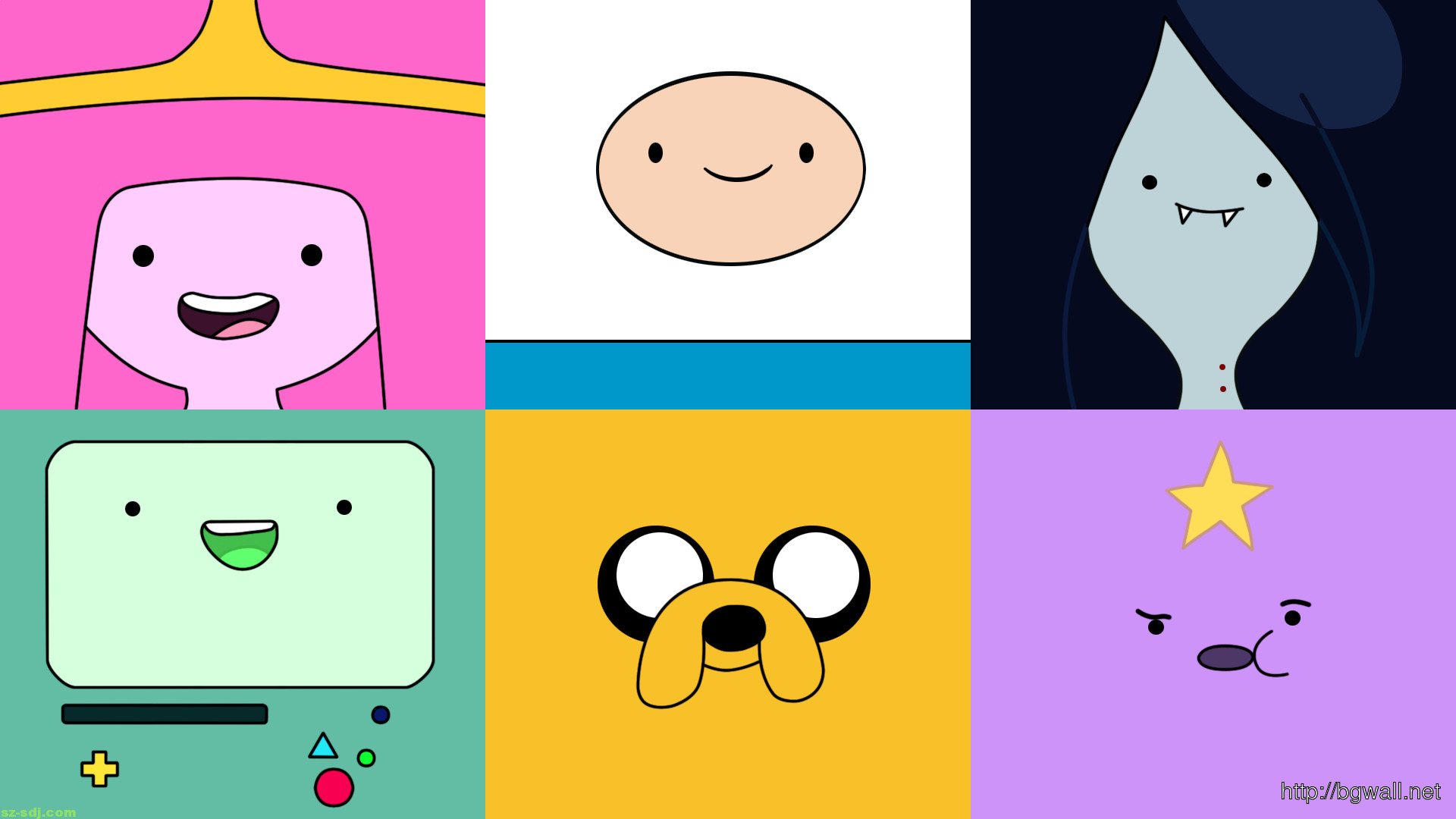 1920x1080 Adventure Time Cute Wallpapers - WallpaperPulse