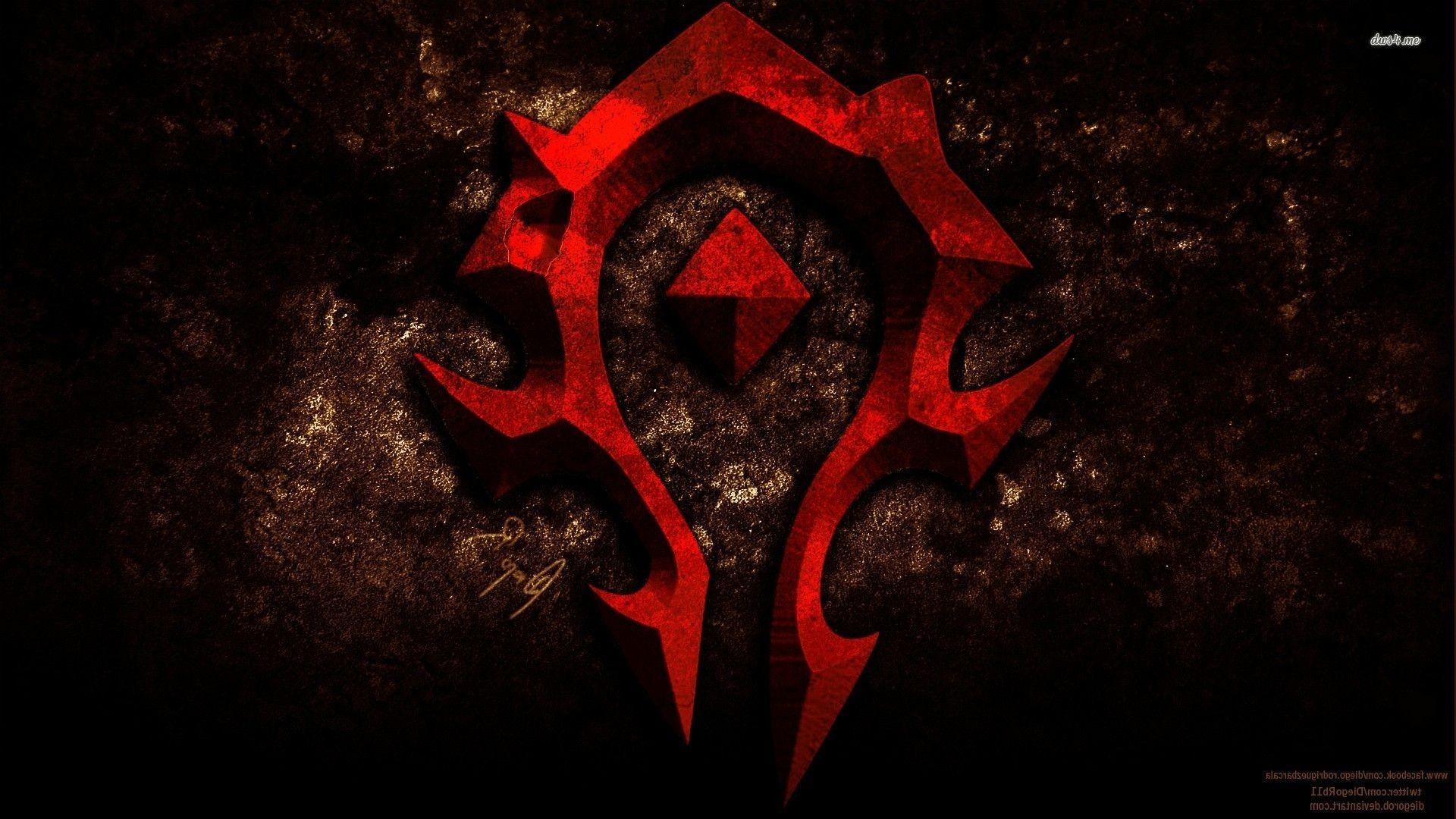 1920x1080 For the horde world of warcraft wallpaper