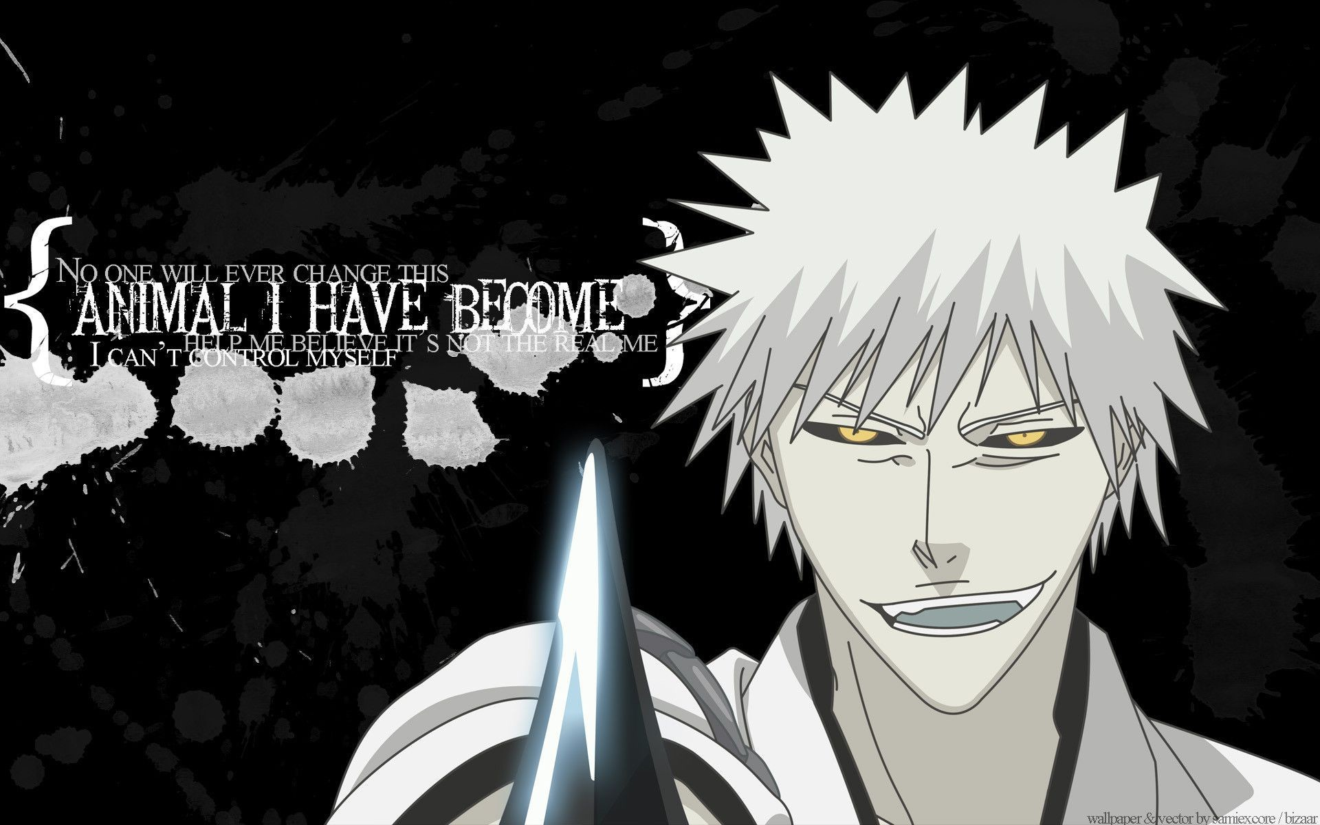 1920x1200 Bleach Hollow Background As Wallpaper HD