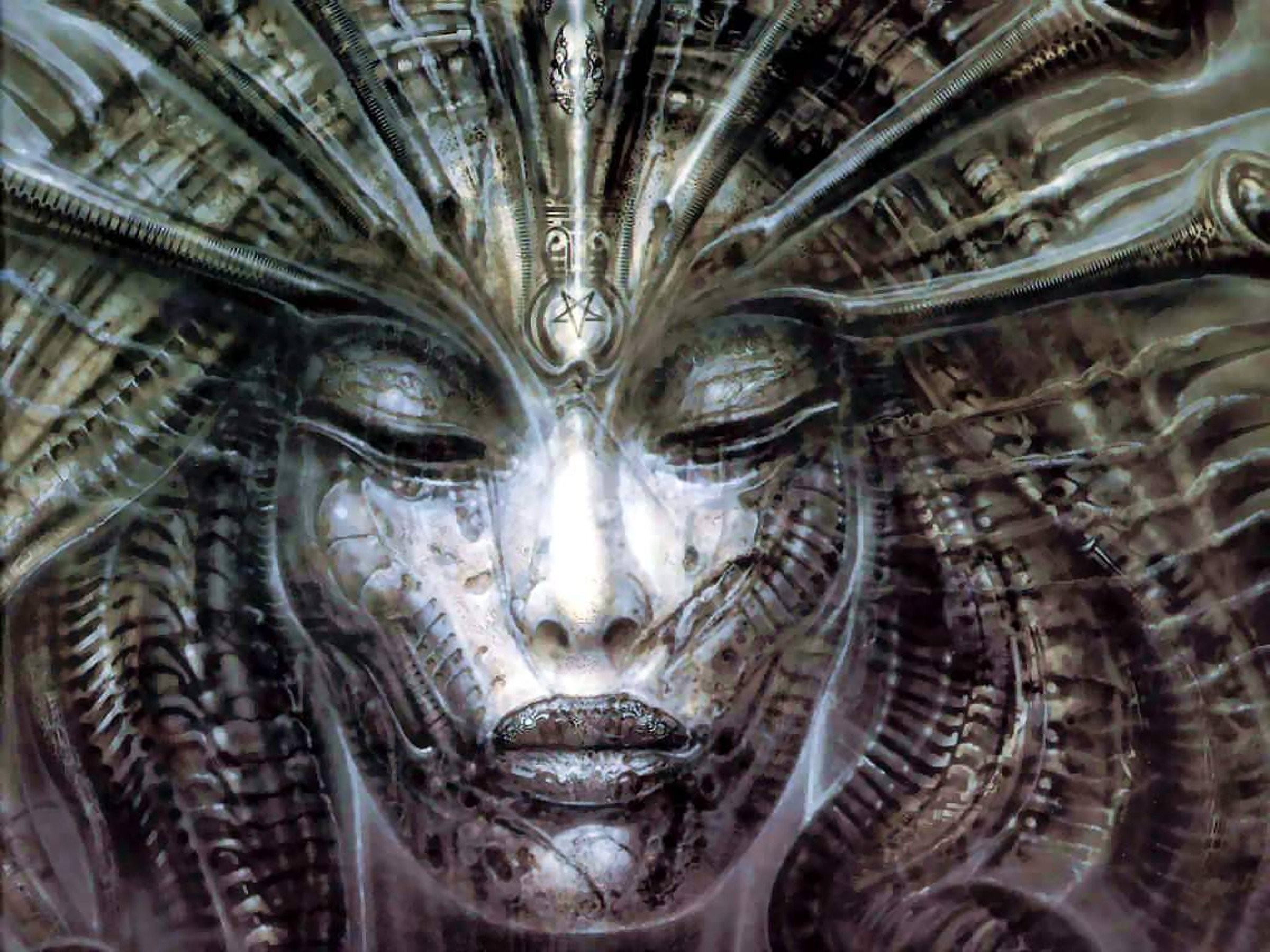 Hr Giger Wallpaper (74+ images) H.r. Giger Alien Wallpaper