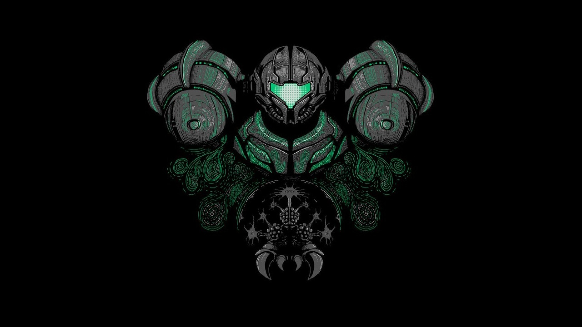 1920x1080 Metroid Wallpaper