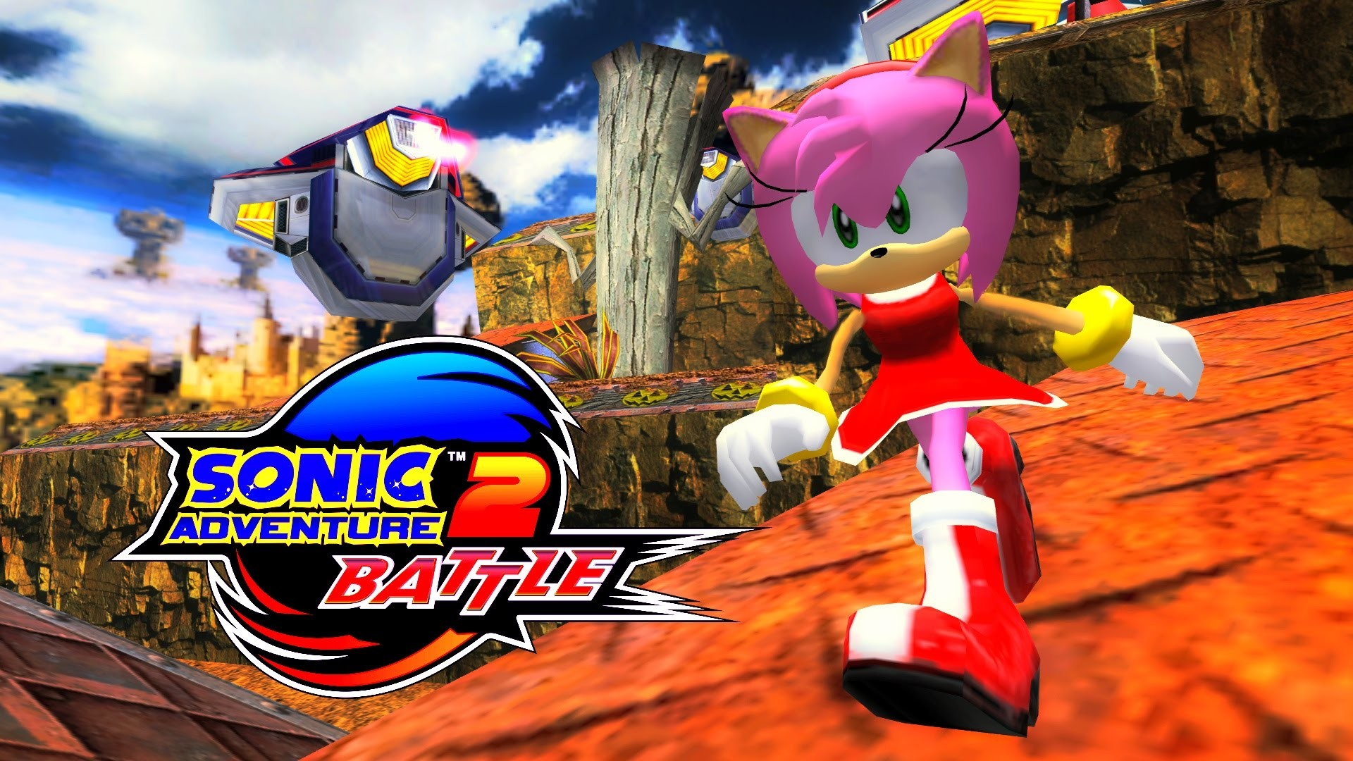 1920x1080 Sonic Adventure 2: Battle - Sky Rail - Amy (No HUD) [REAL Full HD,  Widescreen] 60 FPS - YouTube