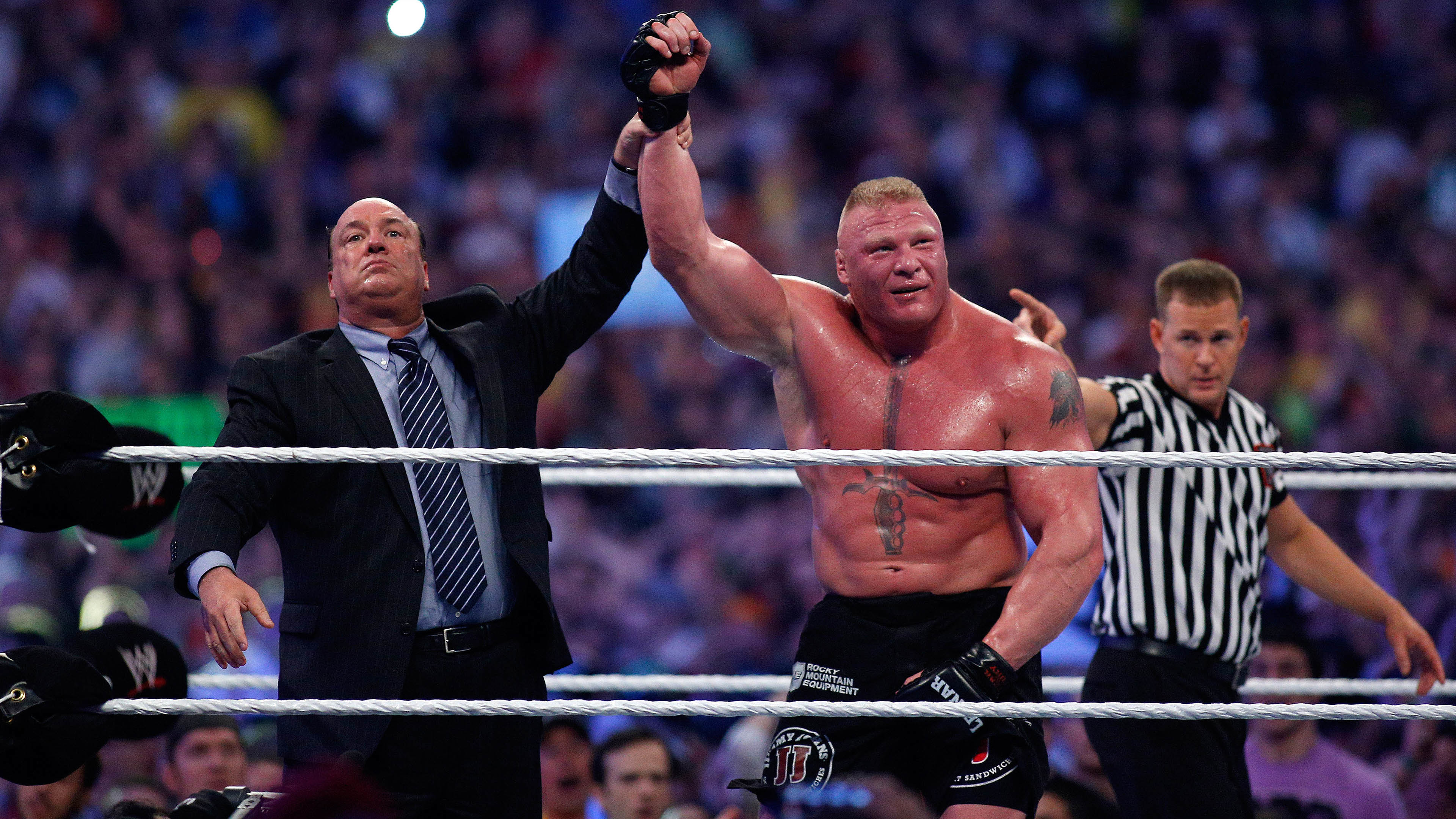 3840x2160 Brock Lesnar WWE 4K  wallpaper