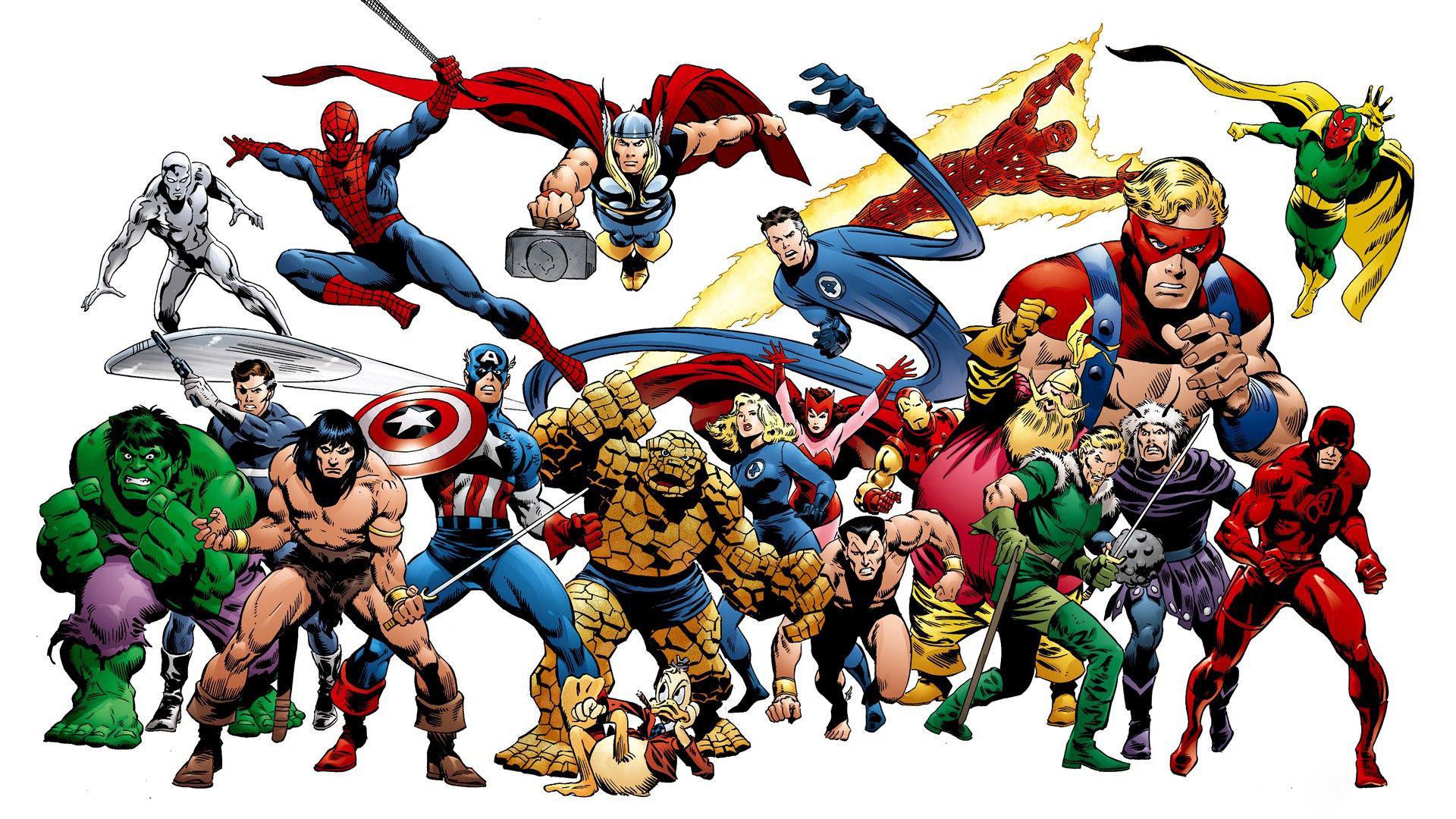 Marvel superheroes wallpaper 62 images - All marvel heroes wallpaper ...