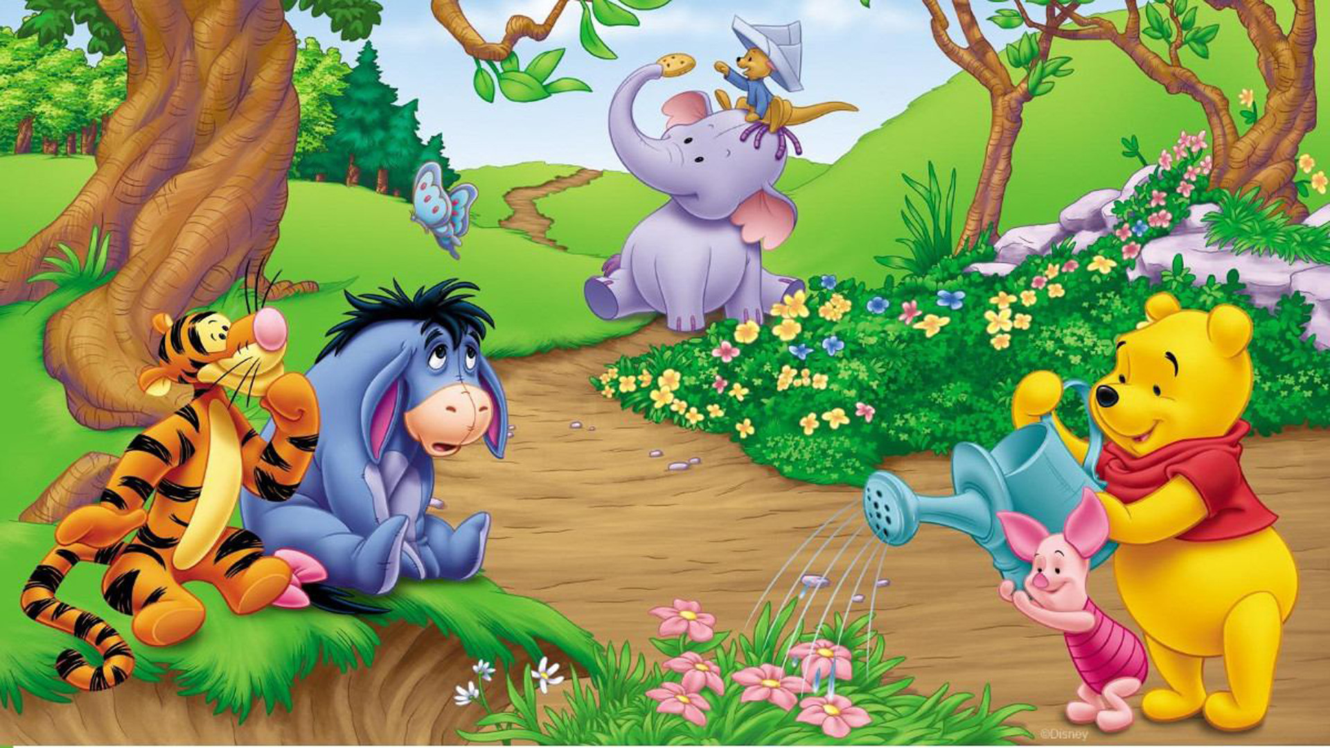Winnie the pooh tablet wallpaper image collections for 1234 get on the dance floor hd video song download