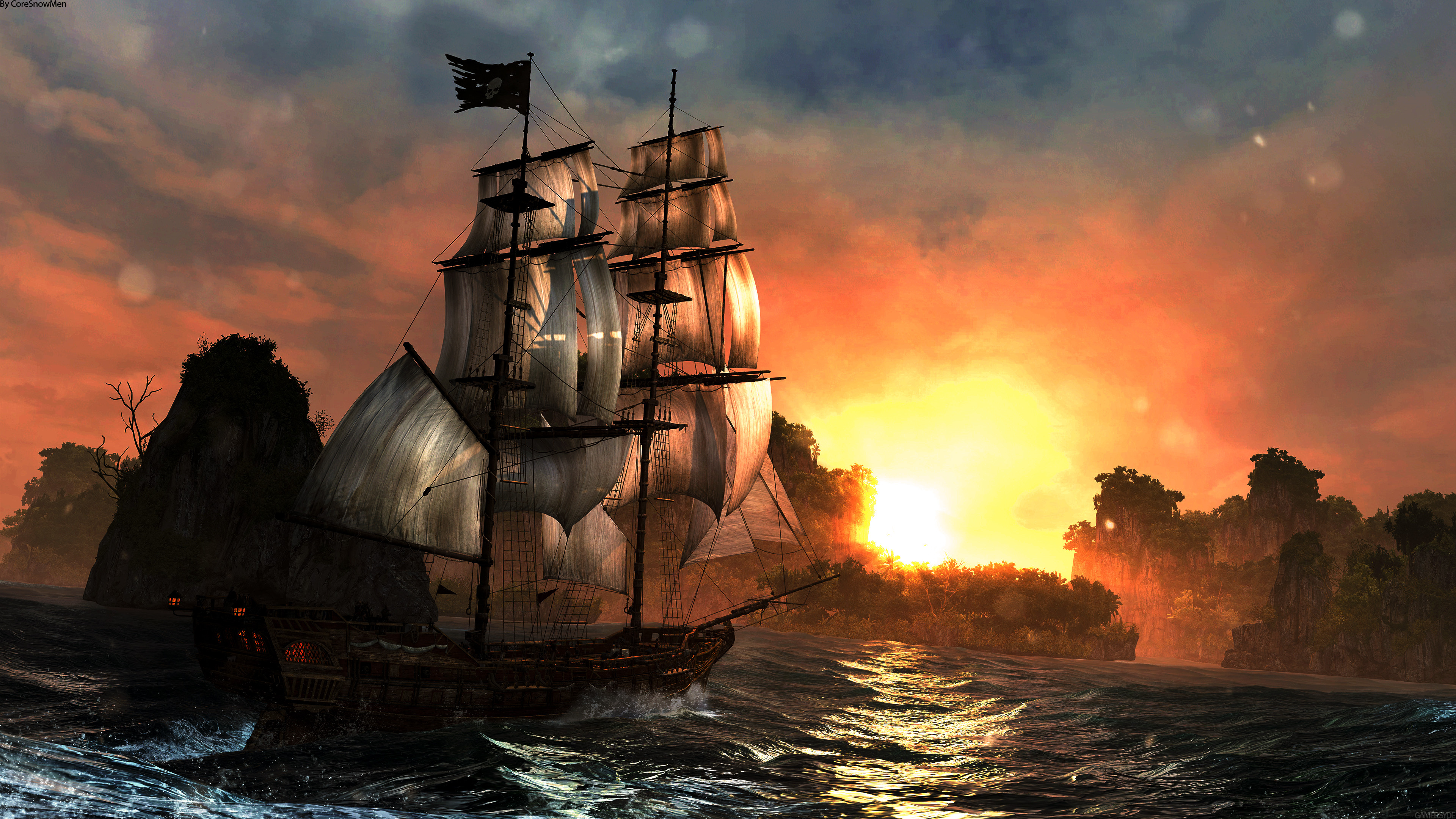 3840x2160 123 Assassin's Creed IV: Black Flag HD Wallpapers | Backgrounds - Wallpaper  Abyss