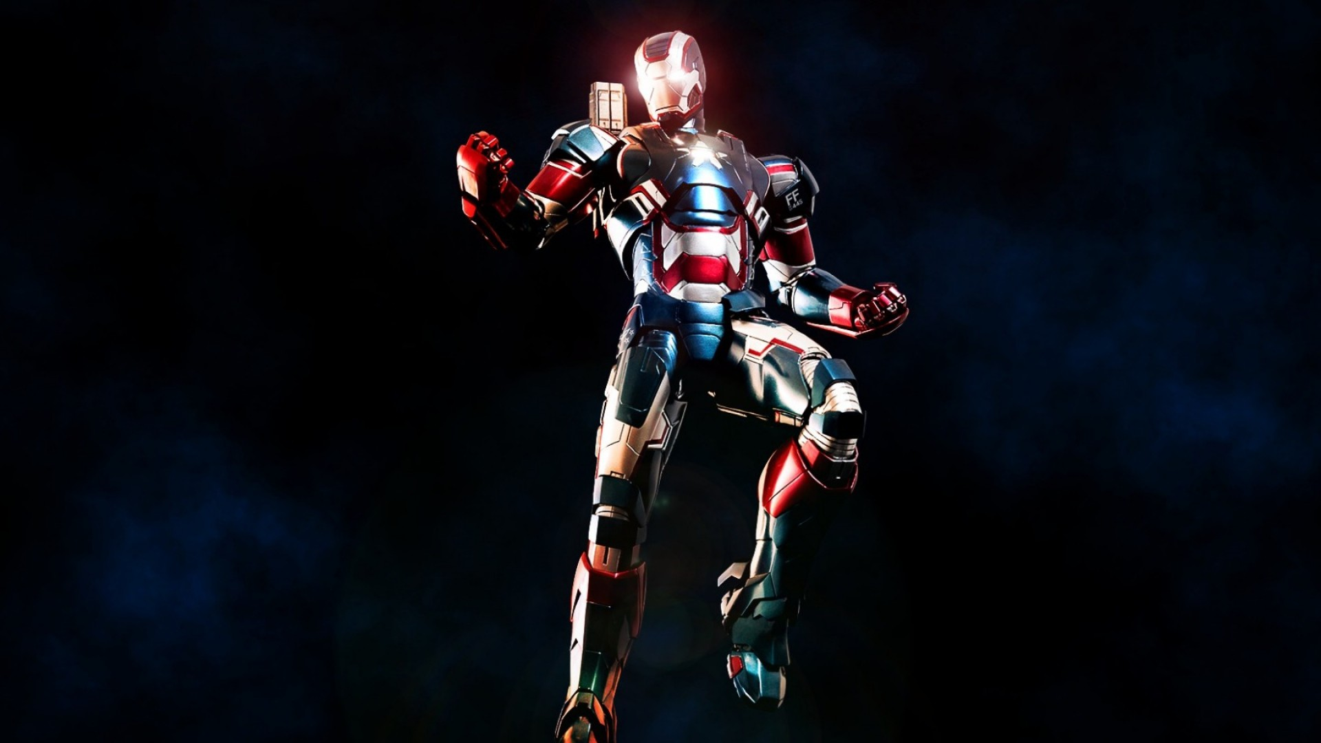 1920x1080 Preview wallpaper iron man, iron patriot, marvel comics